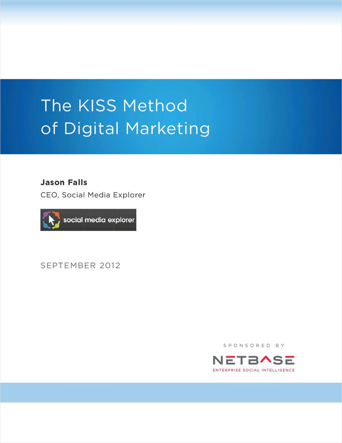 The KISS Method of Digital Marketing Success