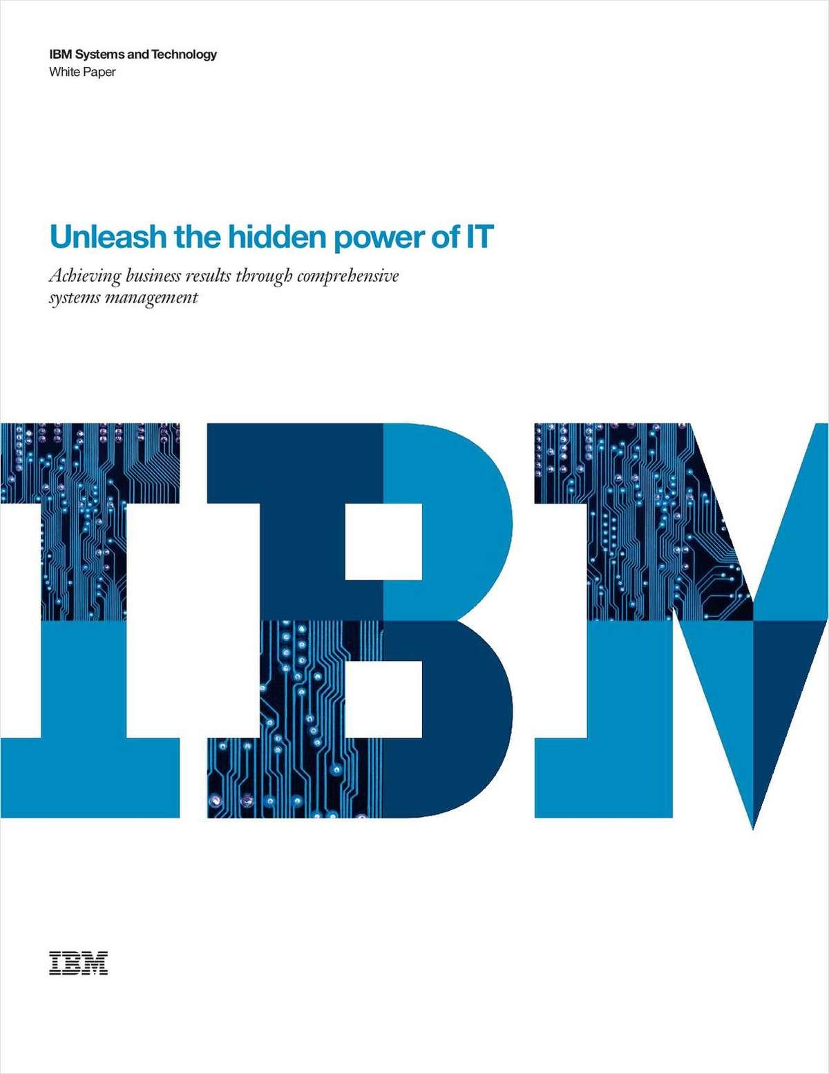 Unleash the Hidden Power of IT