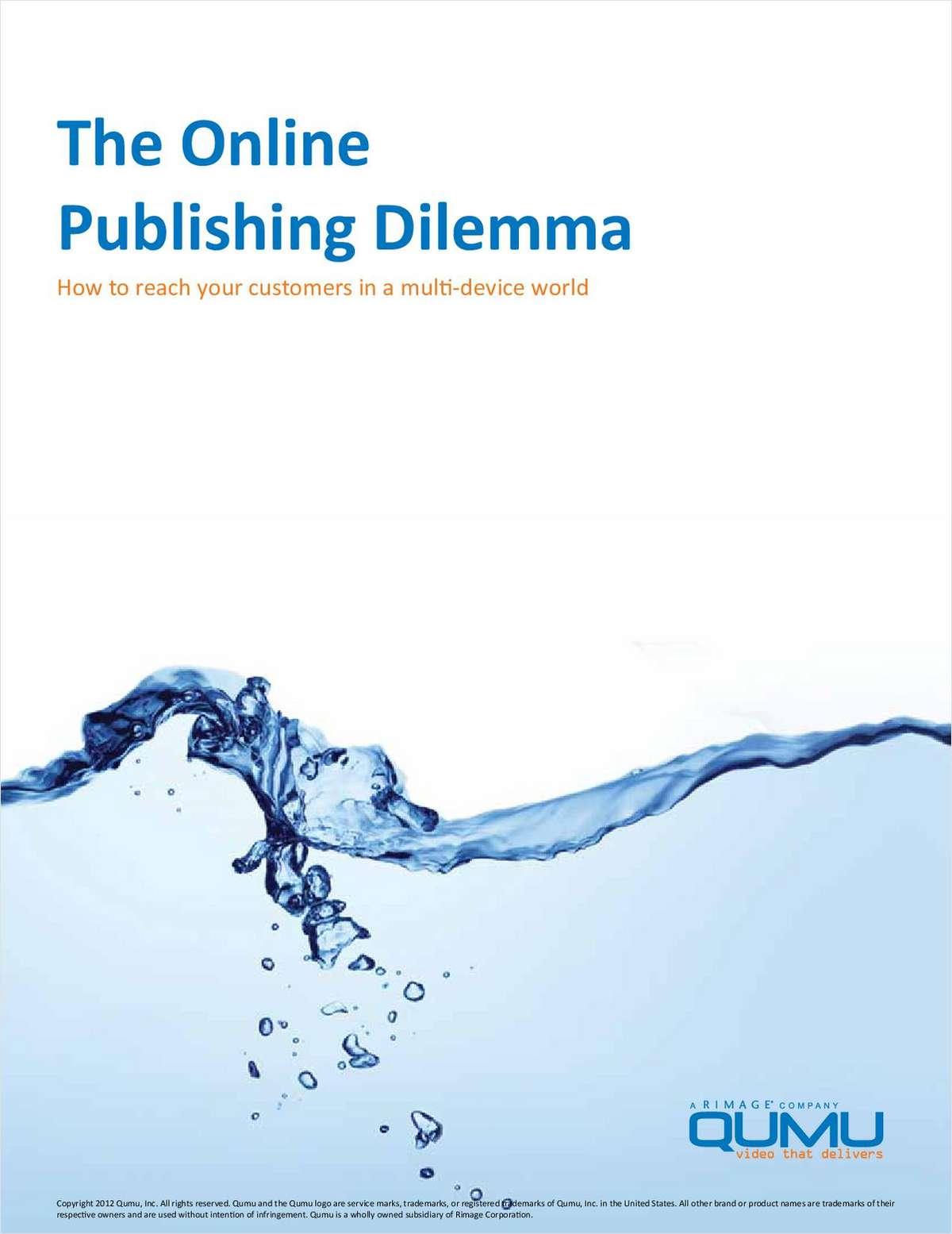 The Online Publishing Dilemma