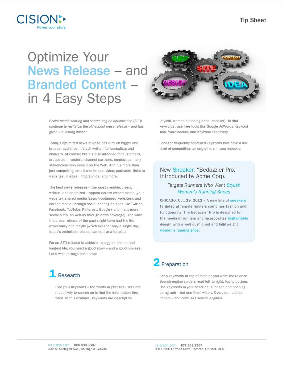 Optimize Your News Release and Branded Content in 4 Easy Steps