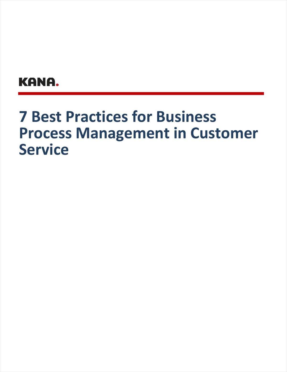 7 Best Practices for Business Process Management in Customer Service