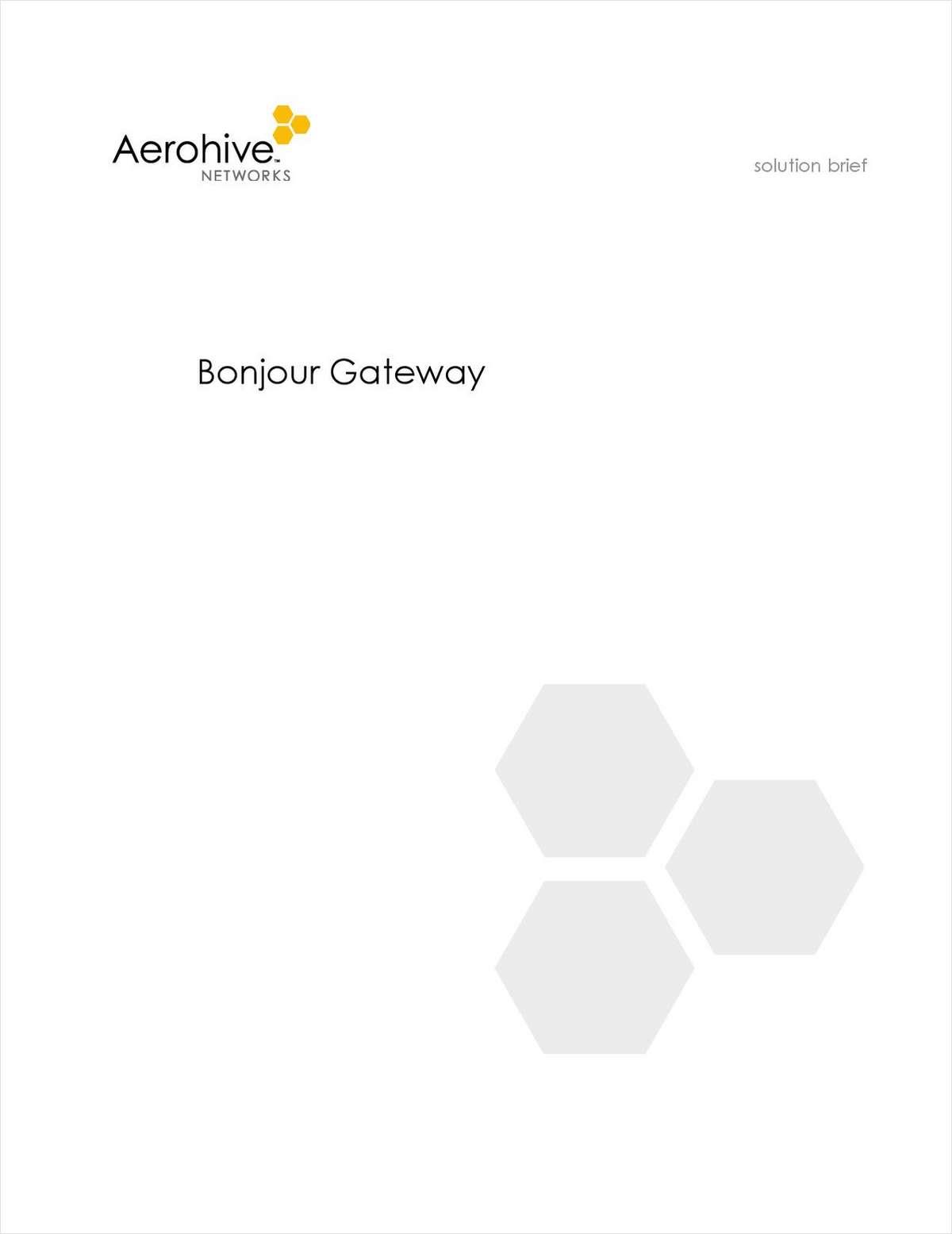 Bonjour Gateway