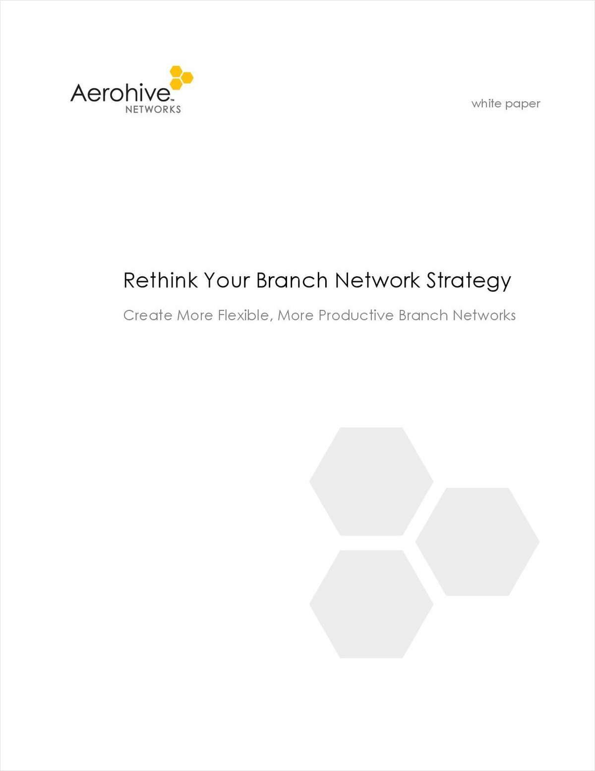 Rethink Your Branch Network Strategy