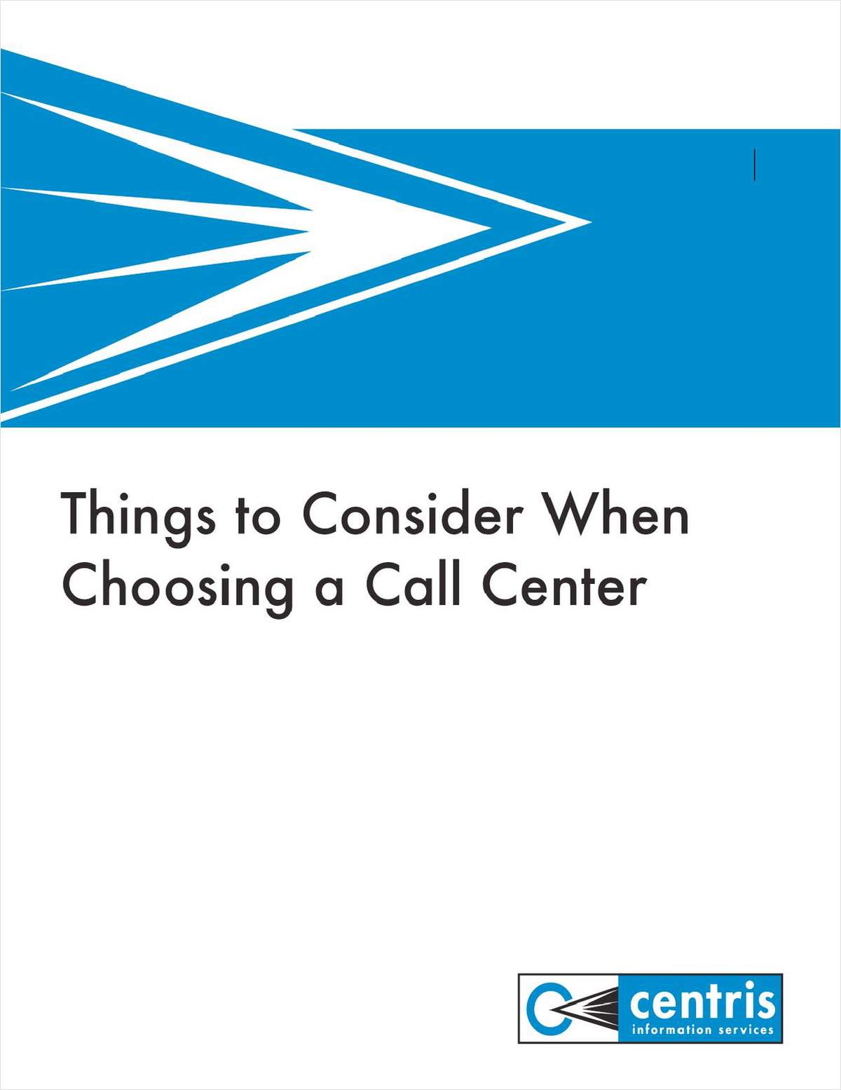 Things to Consider When Choosing a Call Center