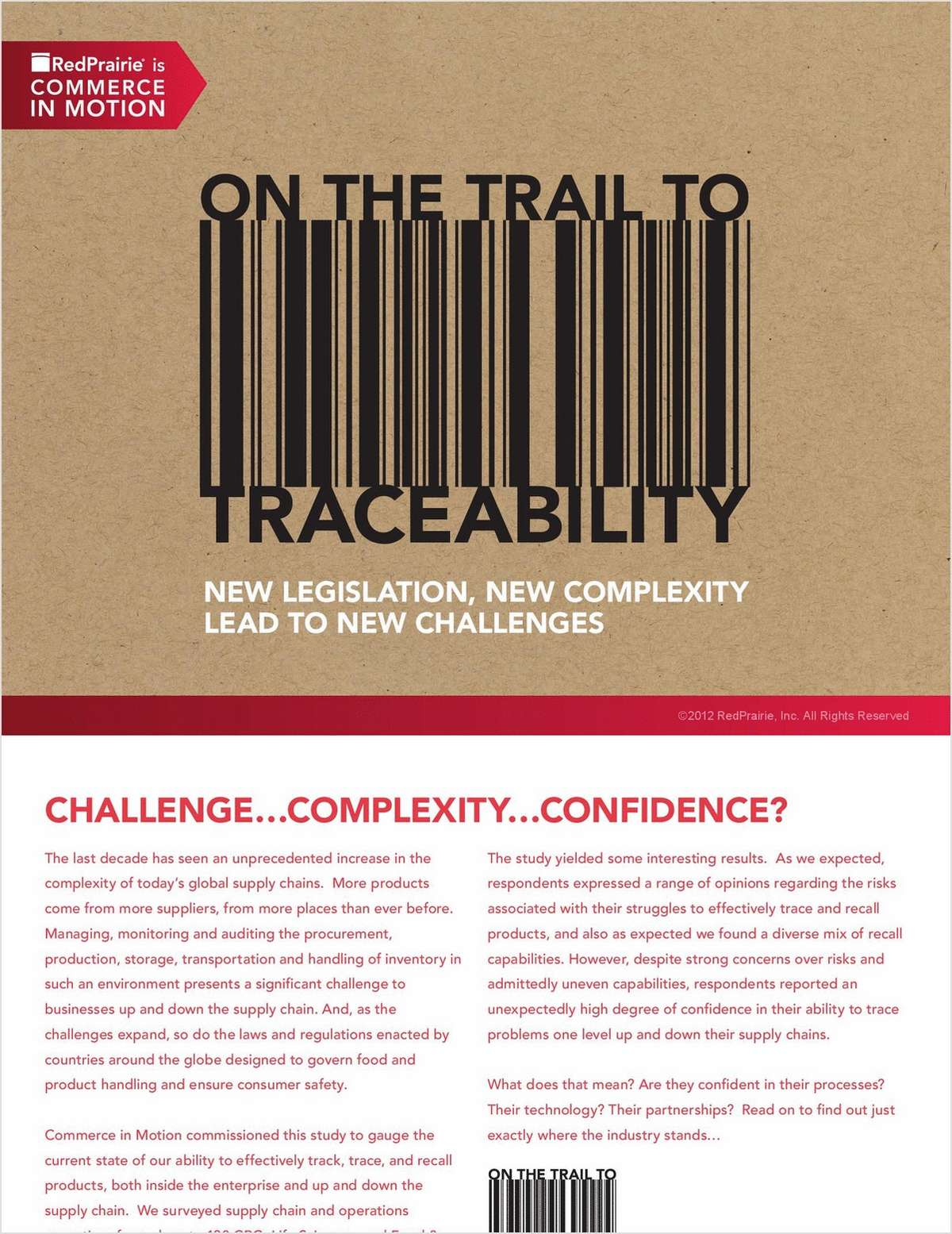 On the Trail to Traceability eBook