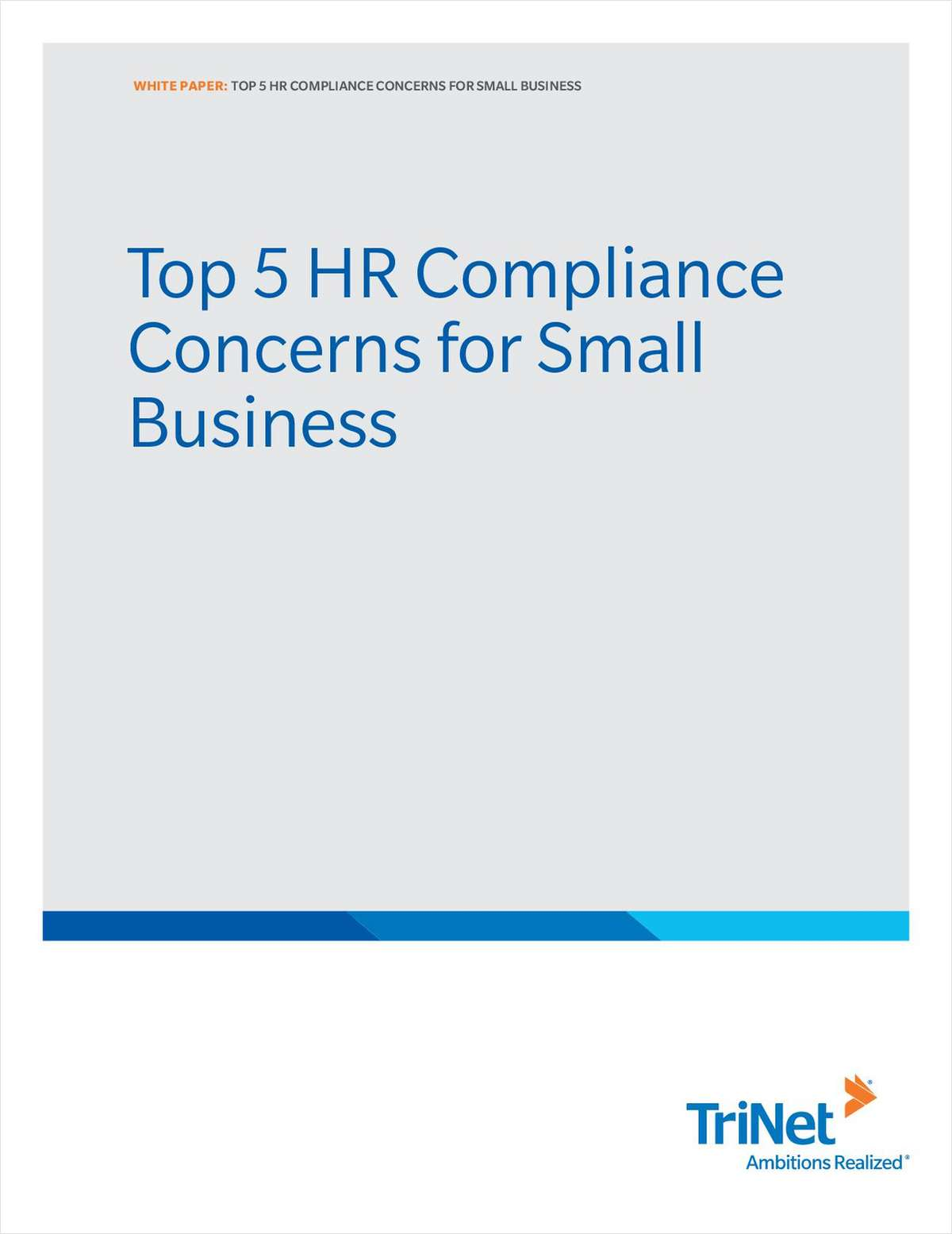 Top 5 HR Compliance Concerns for Small Business