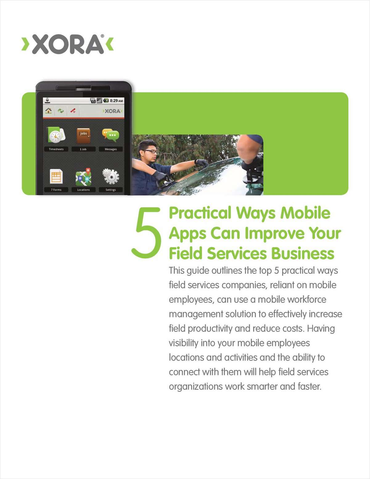 Top 5 Ways Mobile Apps Can Improve Field Services Businesses