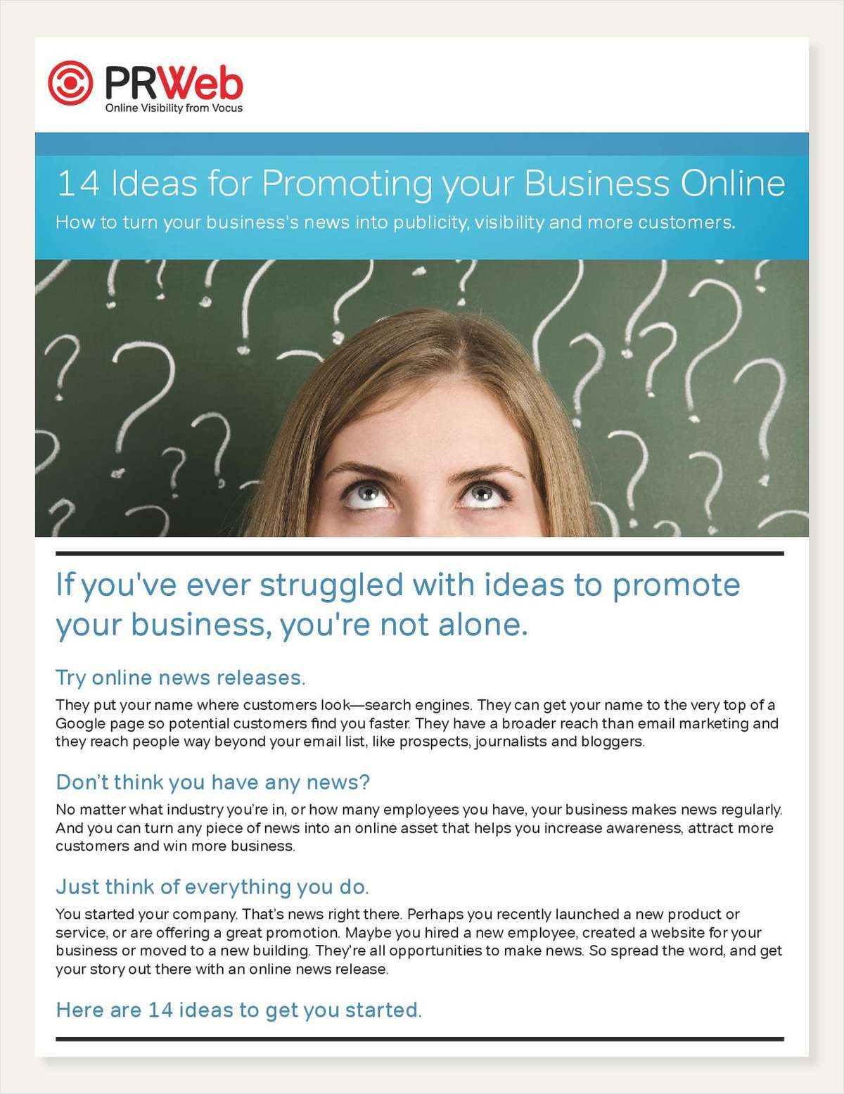 14 Ideas For Promoting Your Business Online