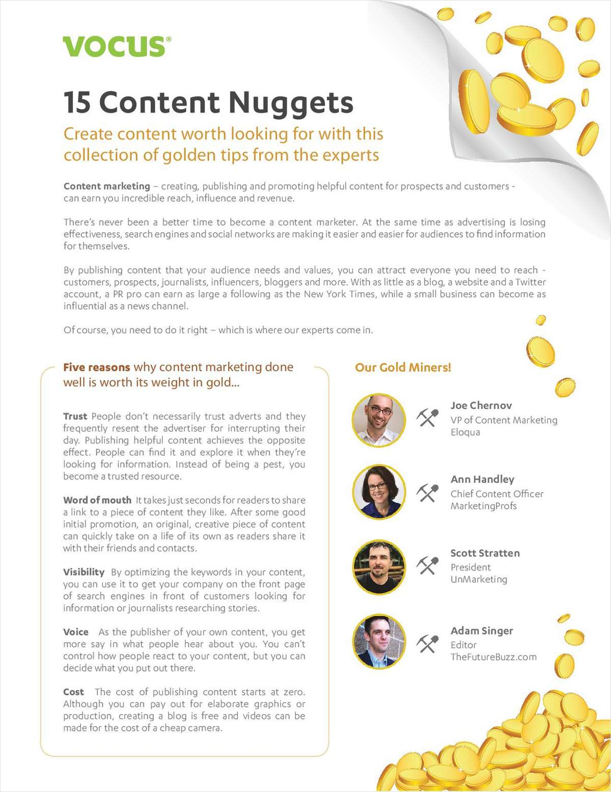 Create Content Worth Looking For With This Collection of 15 Golden Tips From the Experts