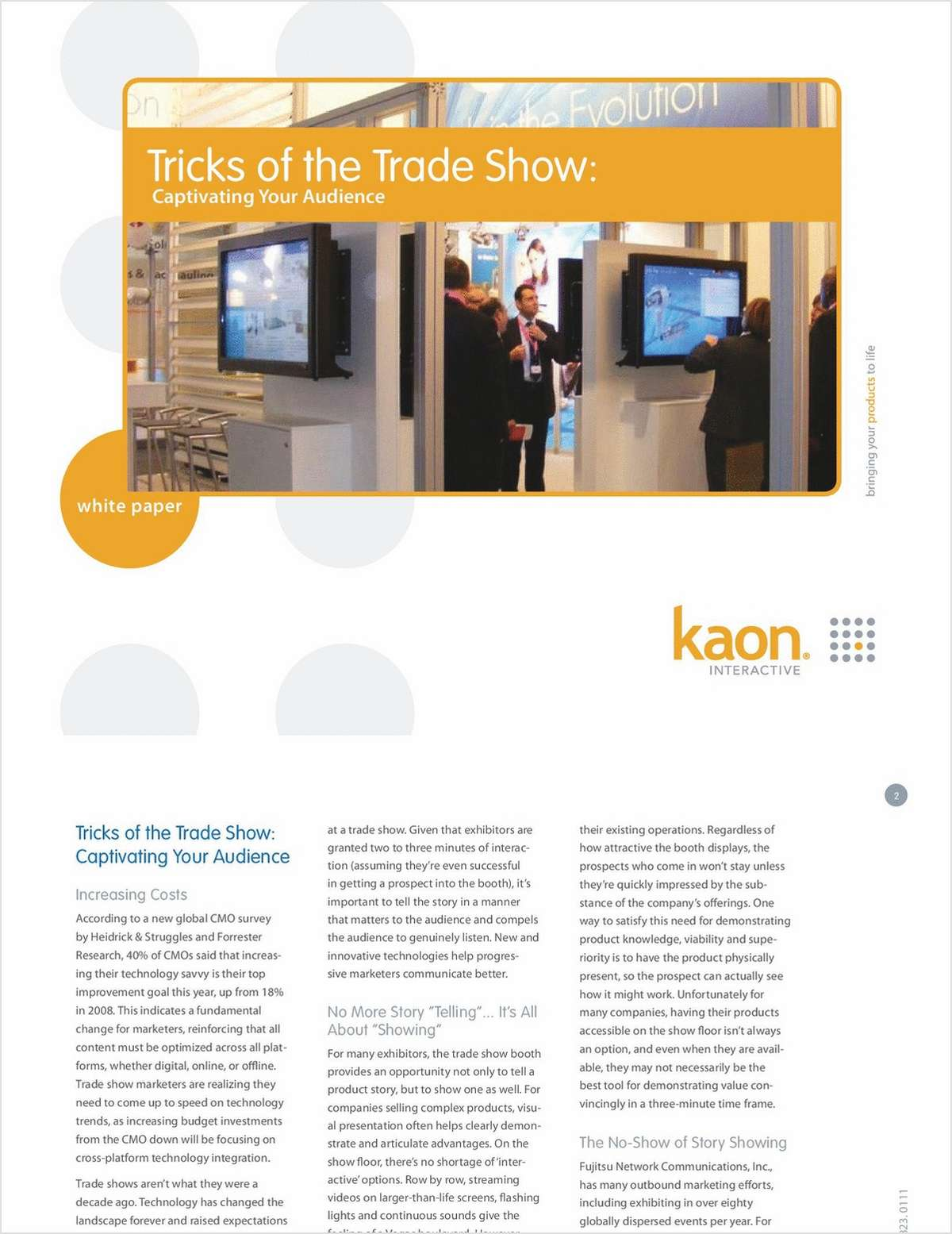 Virtual Trade Show Technologies that 'WOW'