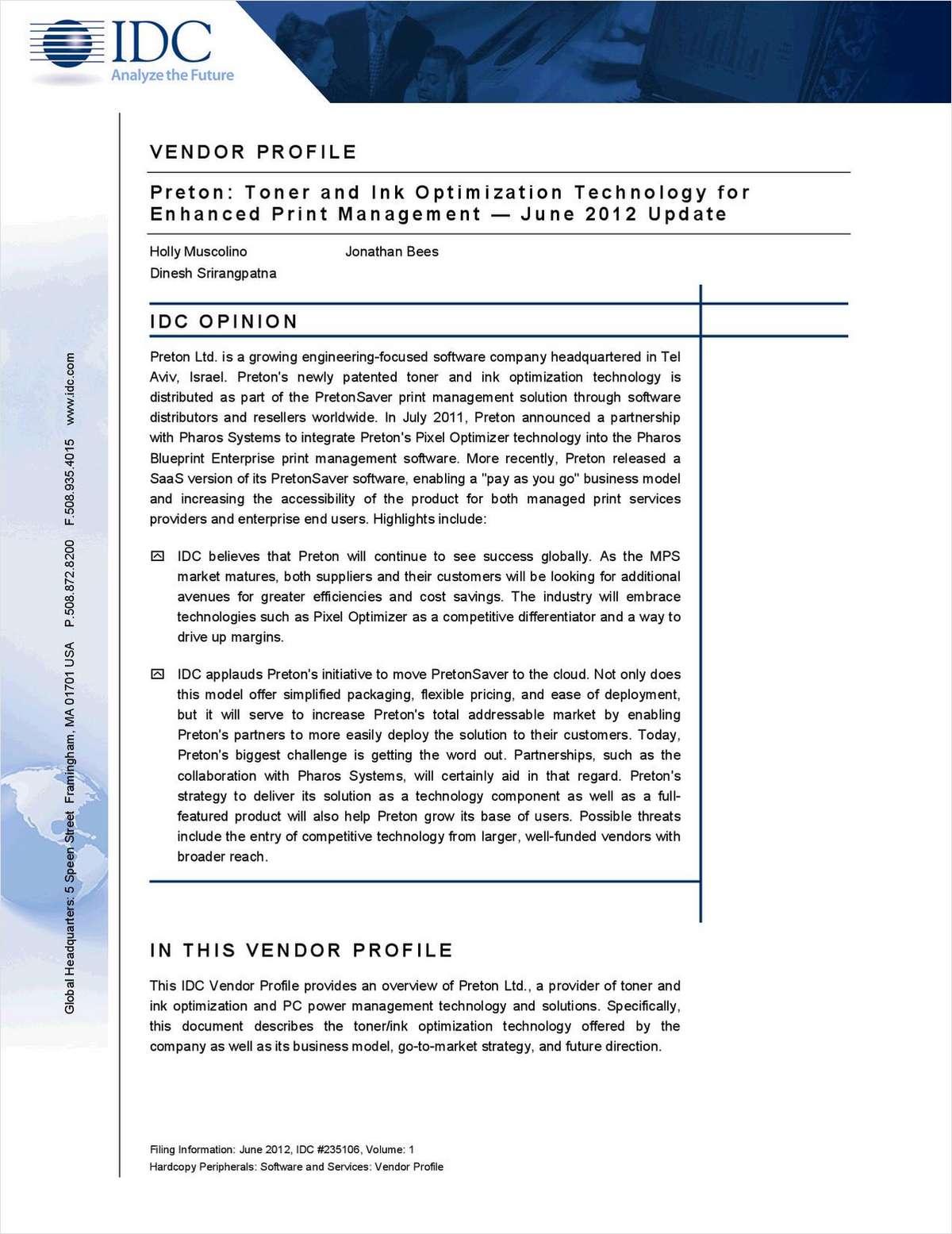 Technology for Enhanced Print Management