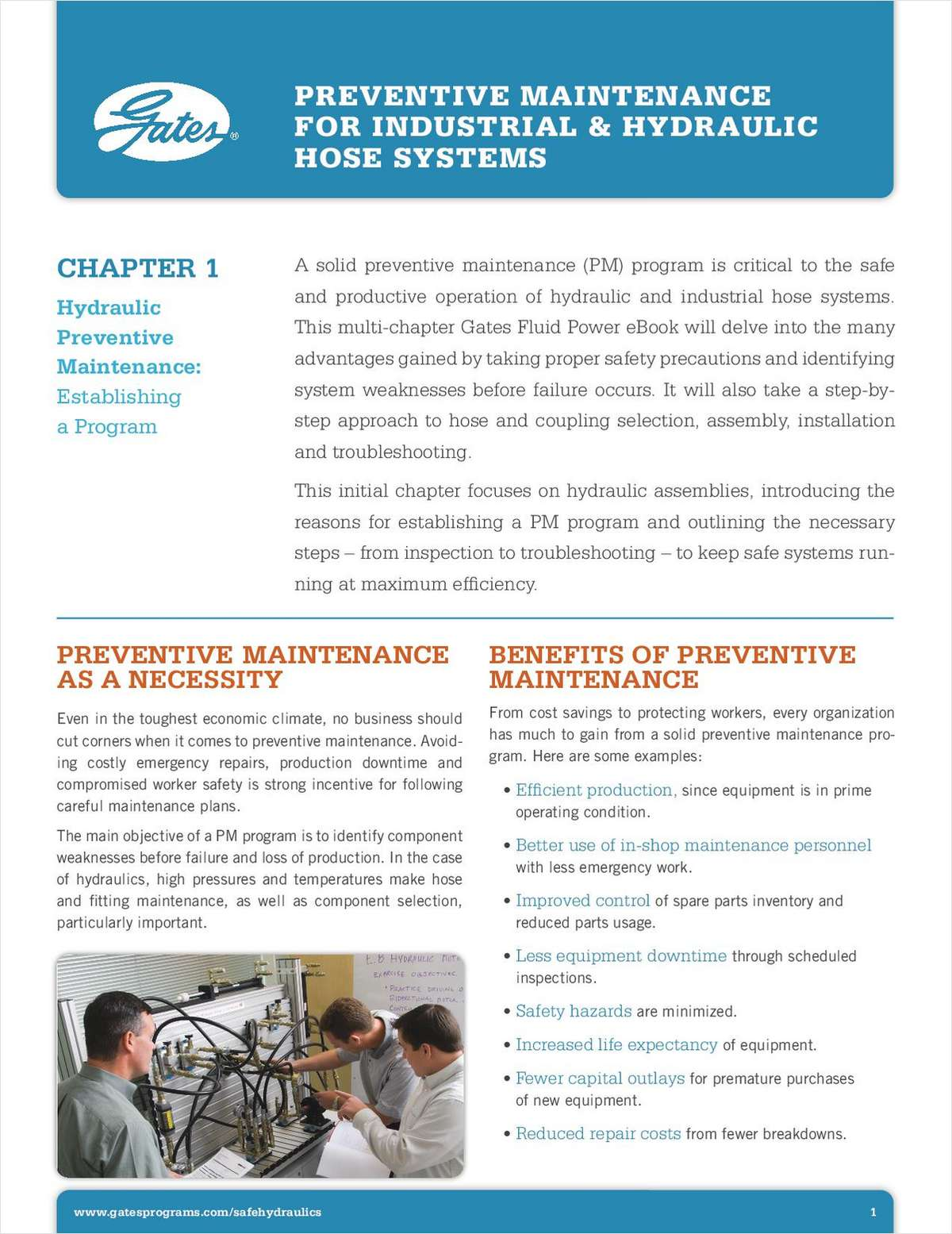 Preventive Maintenance for Industrial & Hydraulic Hose Systems