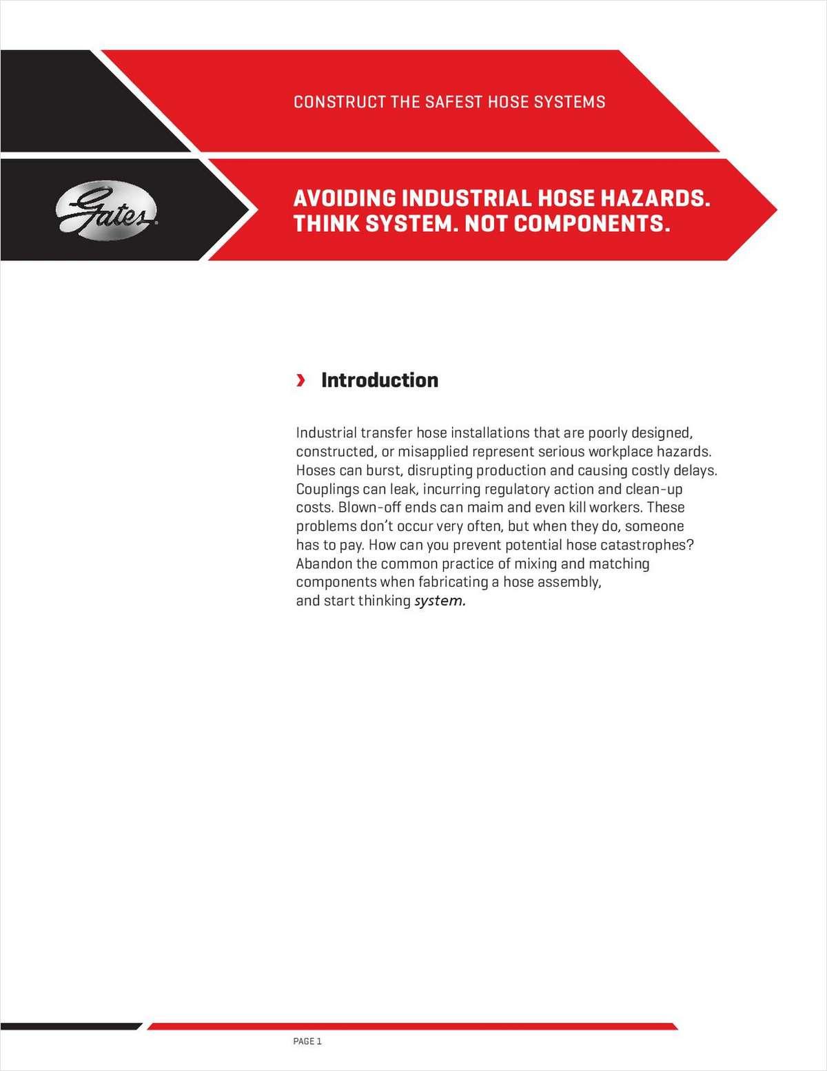 Avoiding Industrial Hose Hazards