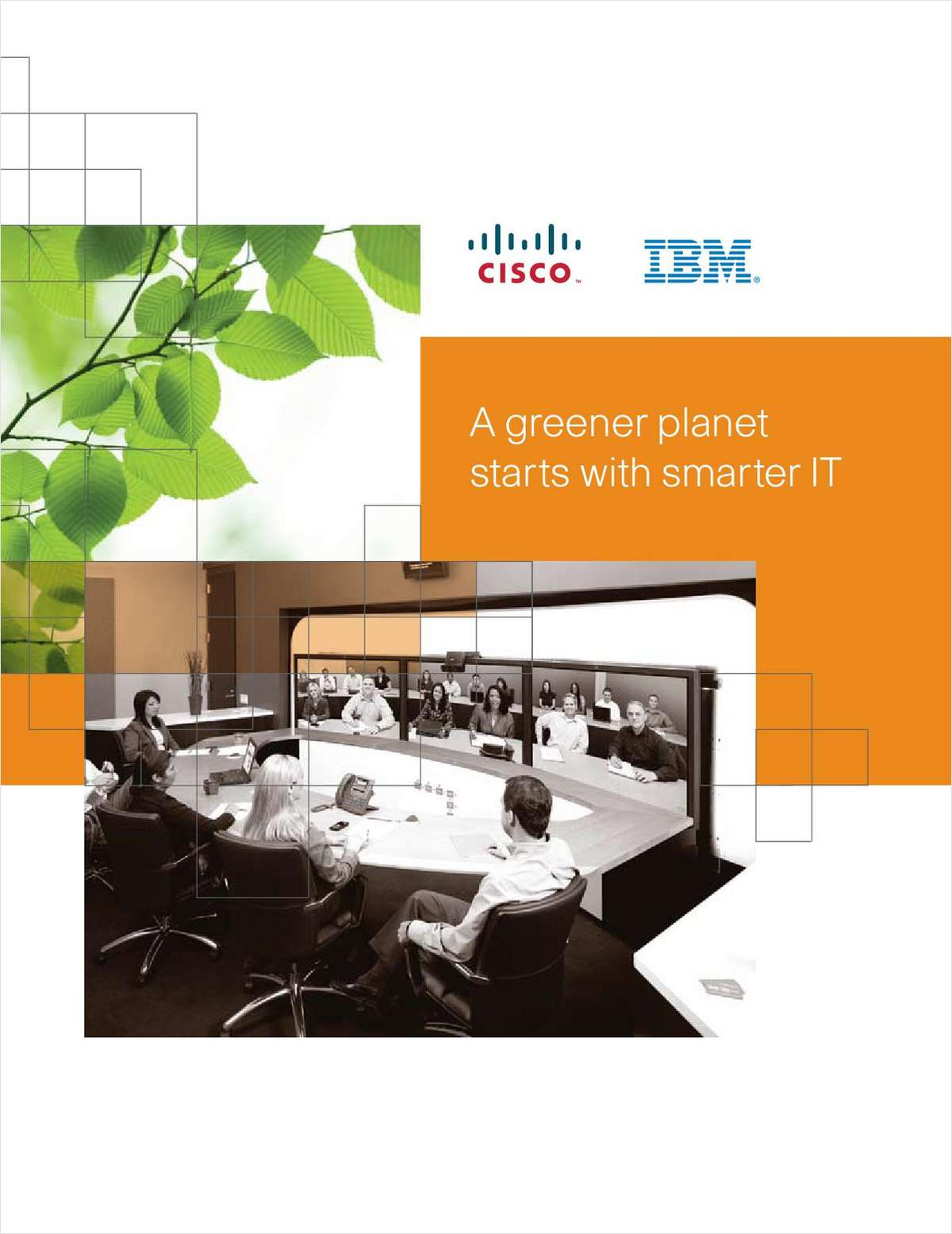 A Greener Planet Starts with Smarter IT