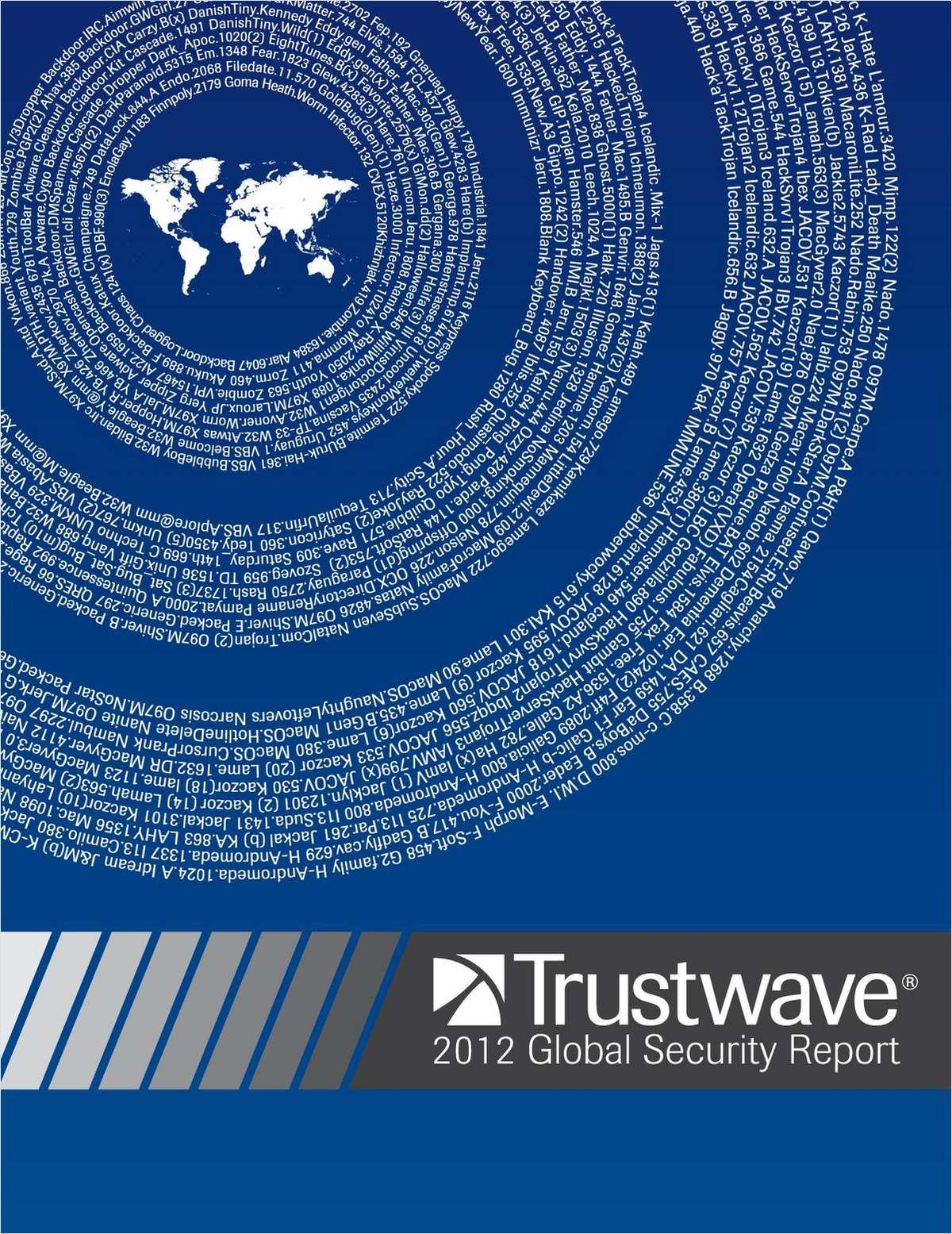 Trustwave 2012 Global Security Report