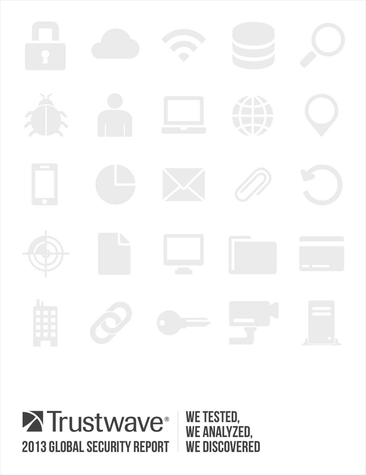 2013 Trustwave Global Security Report