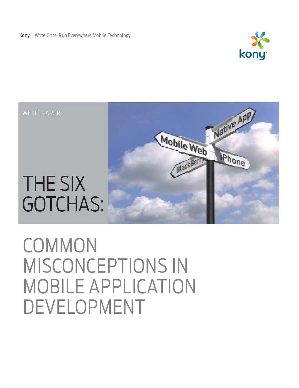 The Six Gotchas: Common Misconceptions in Mobile App Development