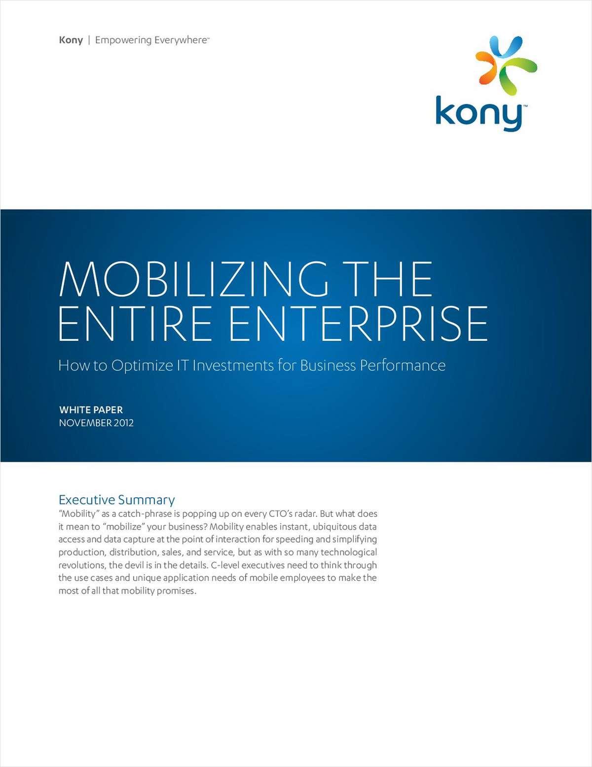 How IT Professionals Mobilize the Entire Enterprise
