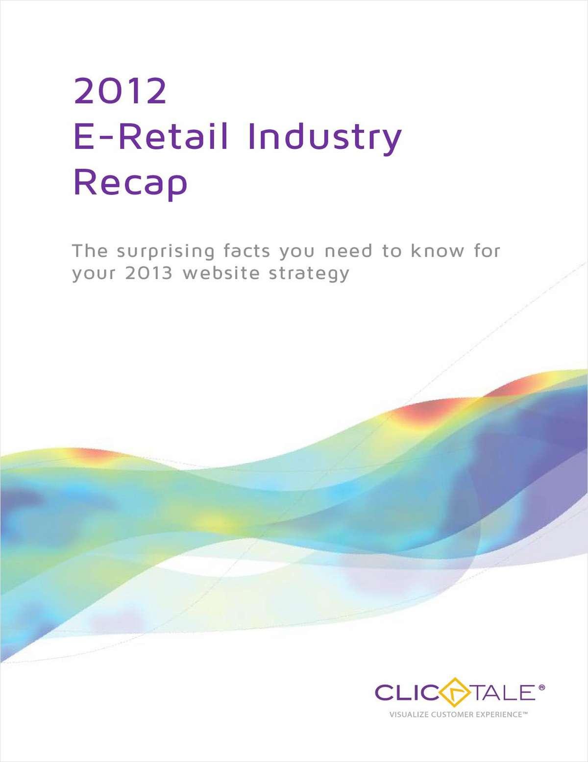 2012 eCommerce Industry Recap