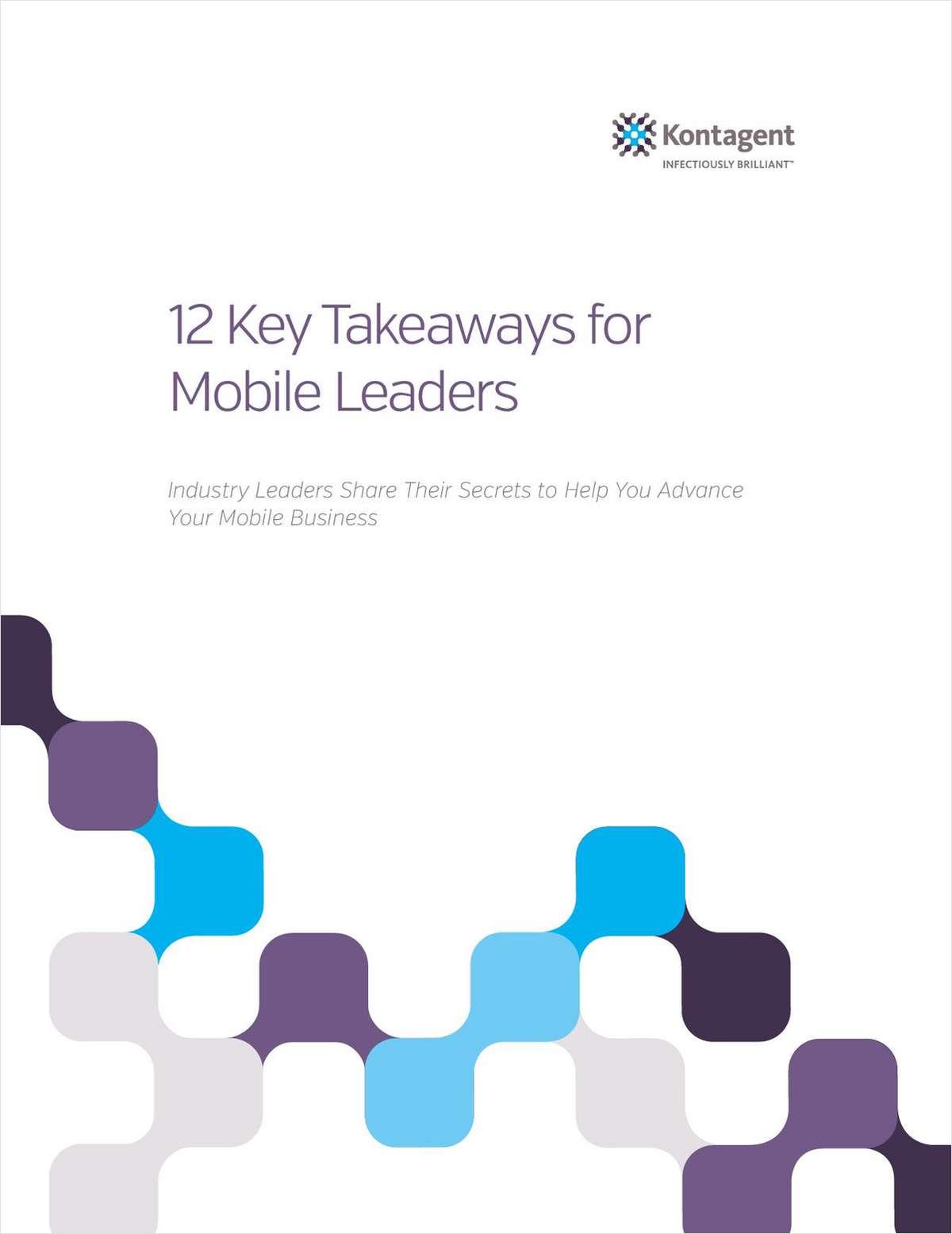 12 Key Takeaways for Mobile Leaders