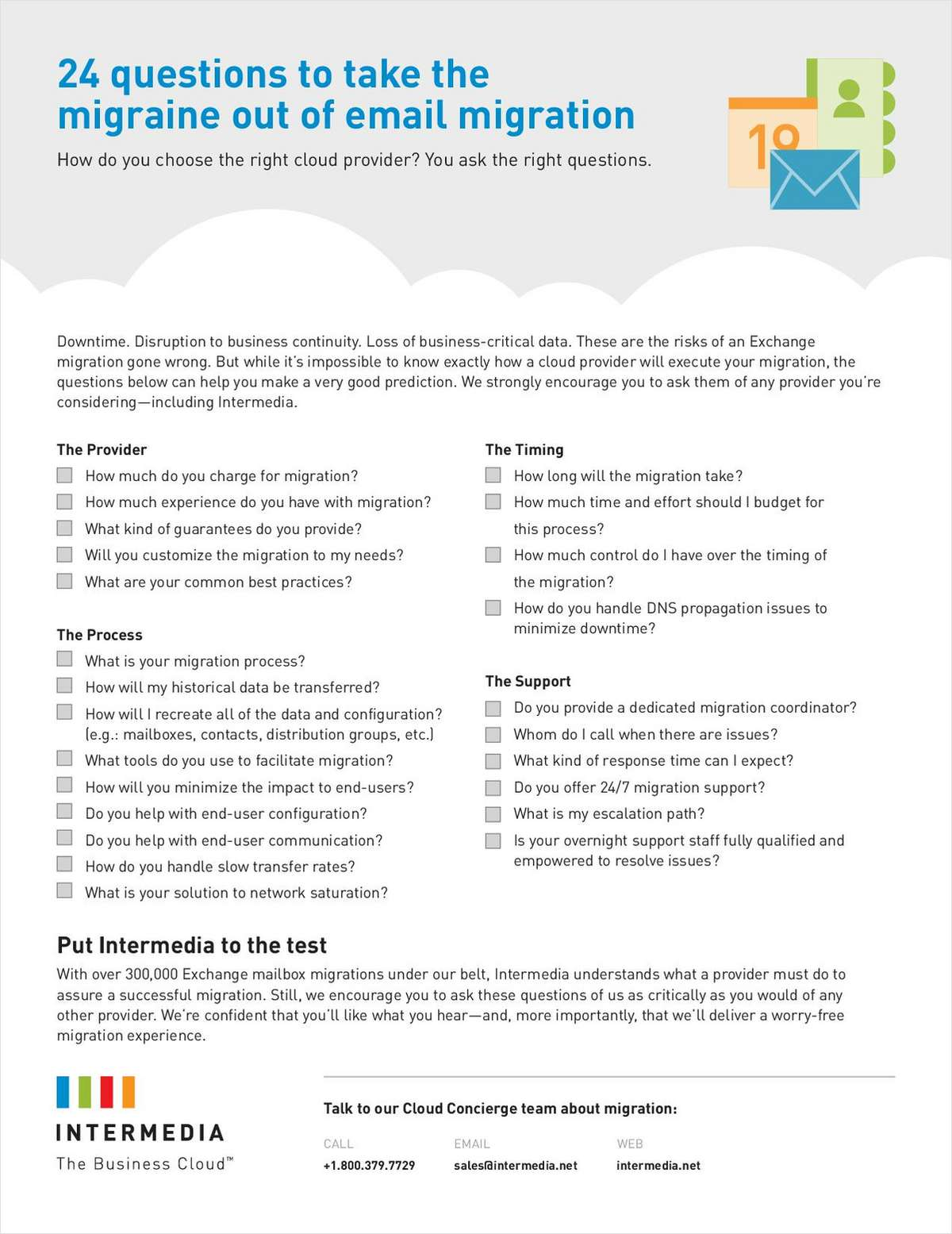24 Questions To Take The Migraine Out Of Email Migration