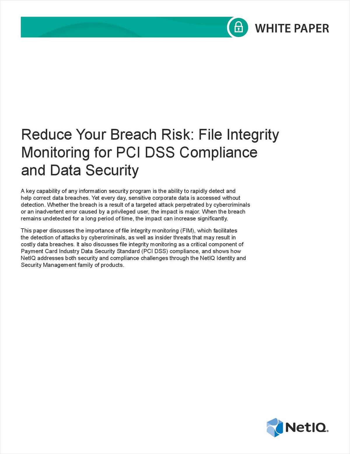 Reduce Your Breach Risk