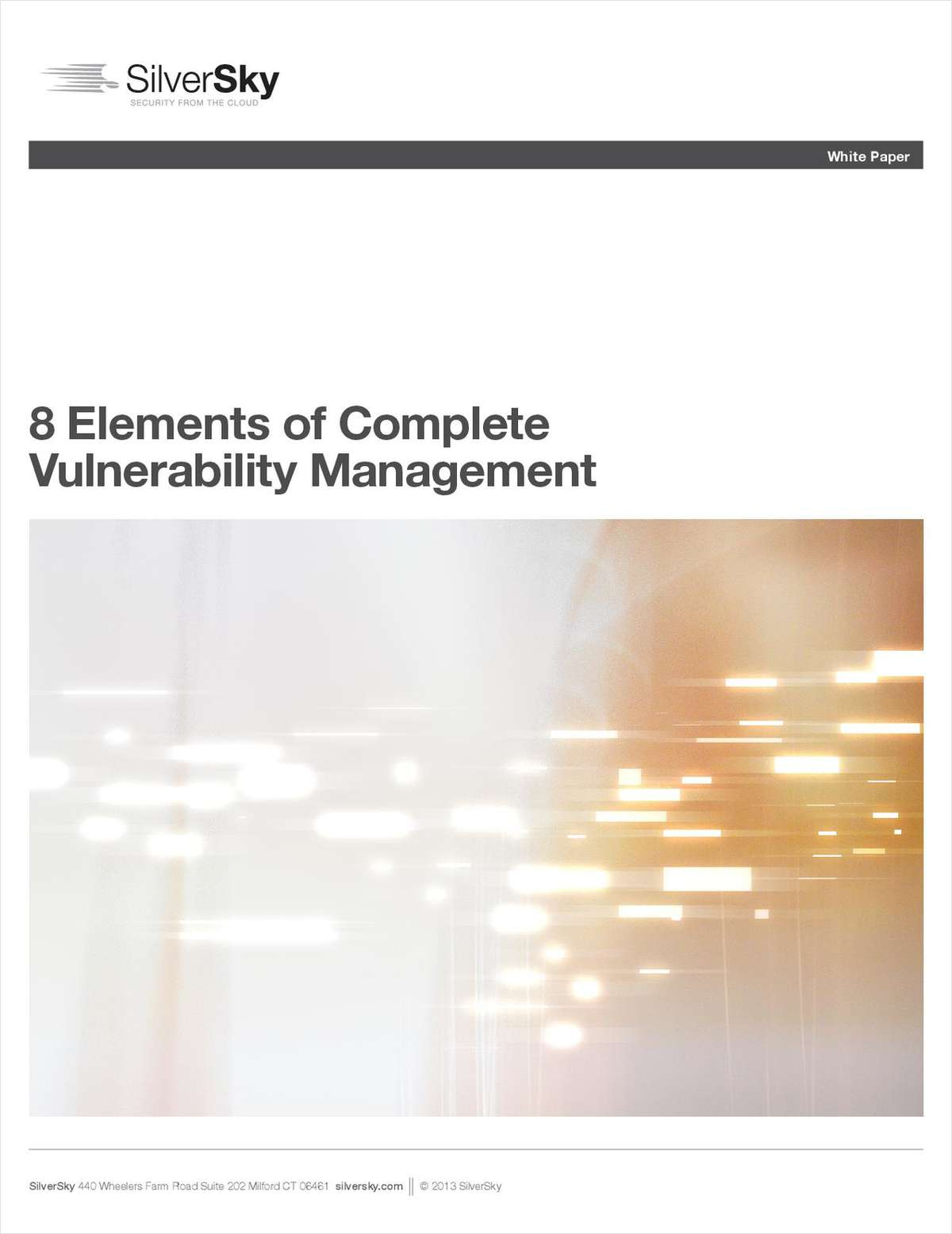 8 Elements of Complete Vulnerability Management