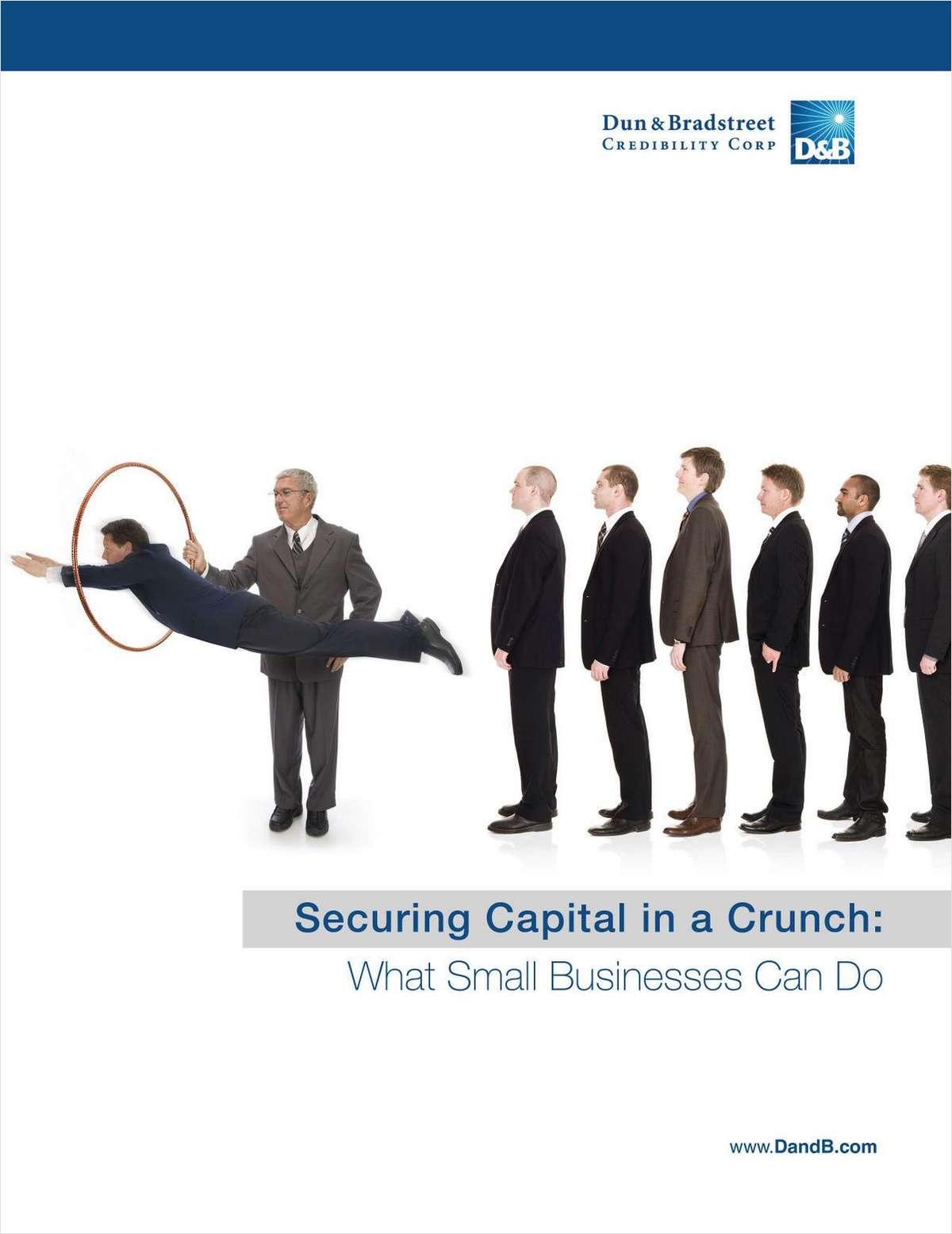 Securing Capital In A Crunch