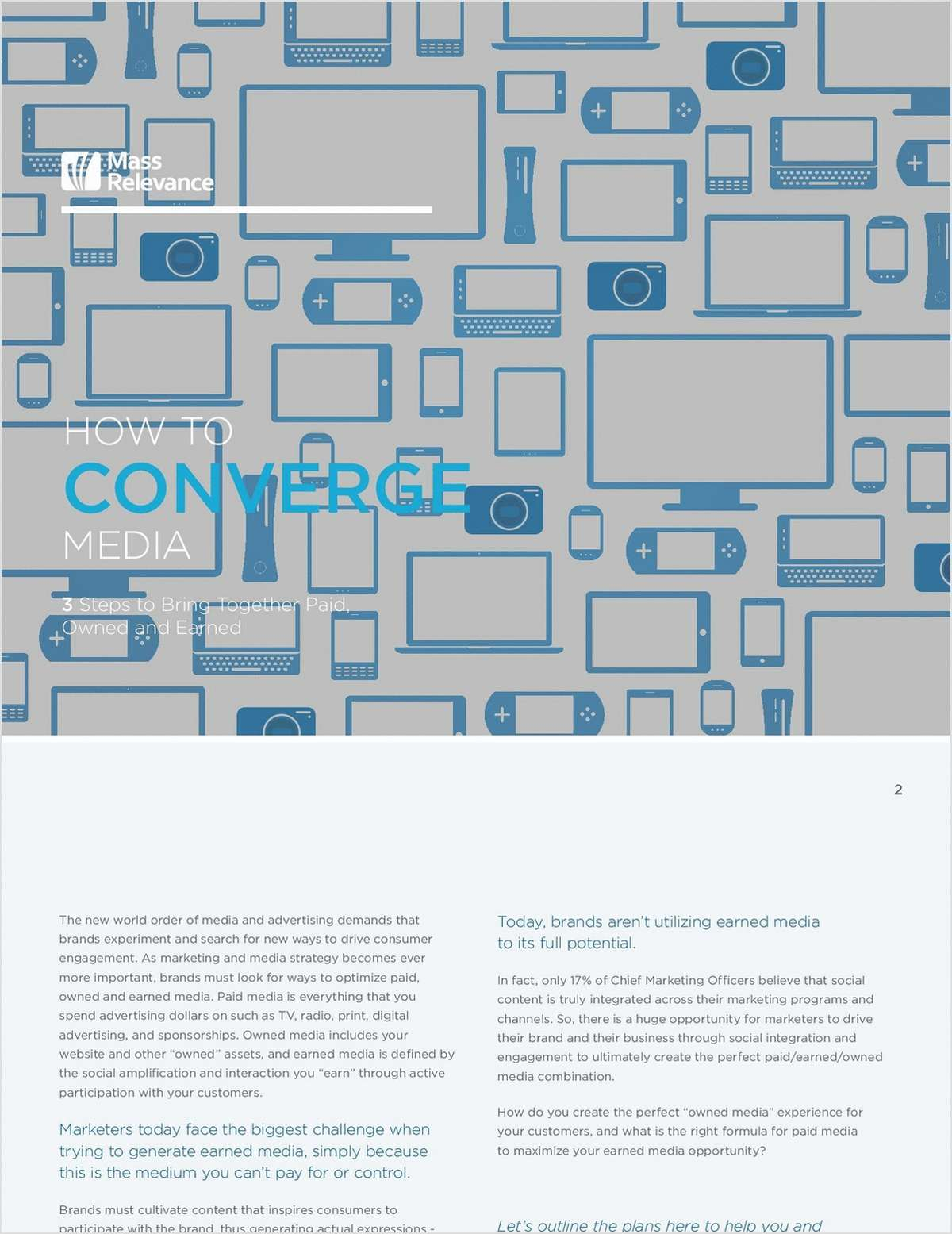 How to Converge Media