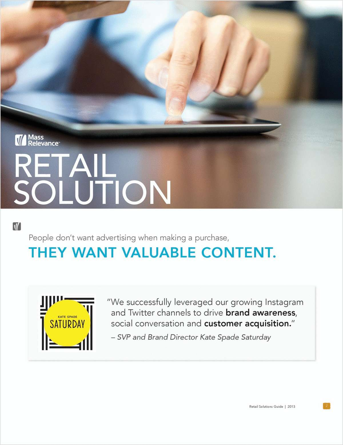 Social Retail Solution Guide: Use Social Media Content To Drive Commerce