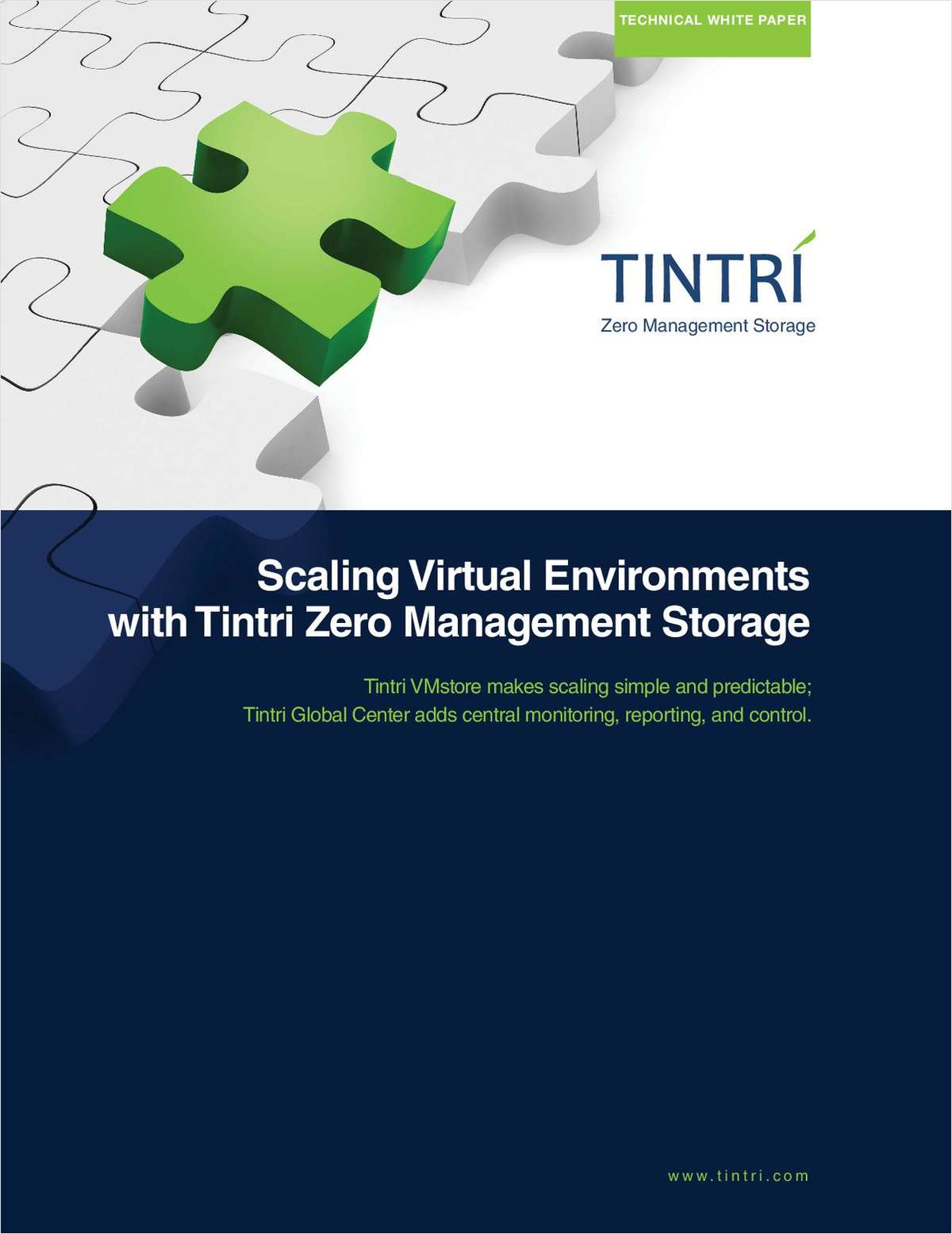 Scaling Storage for VMware Virtualized Environments