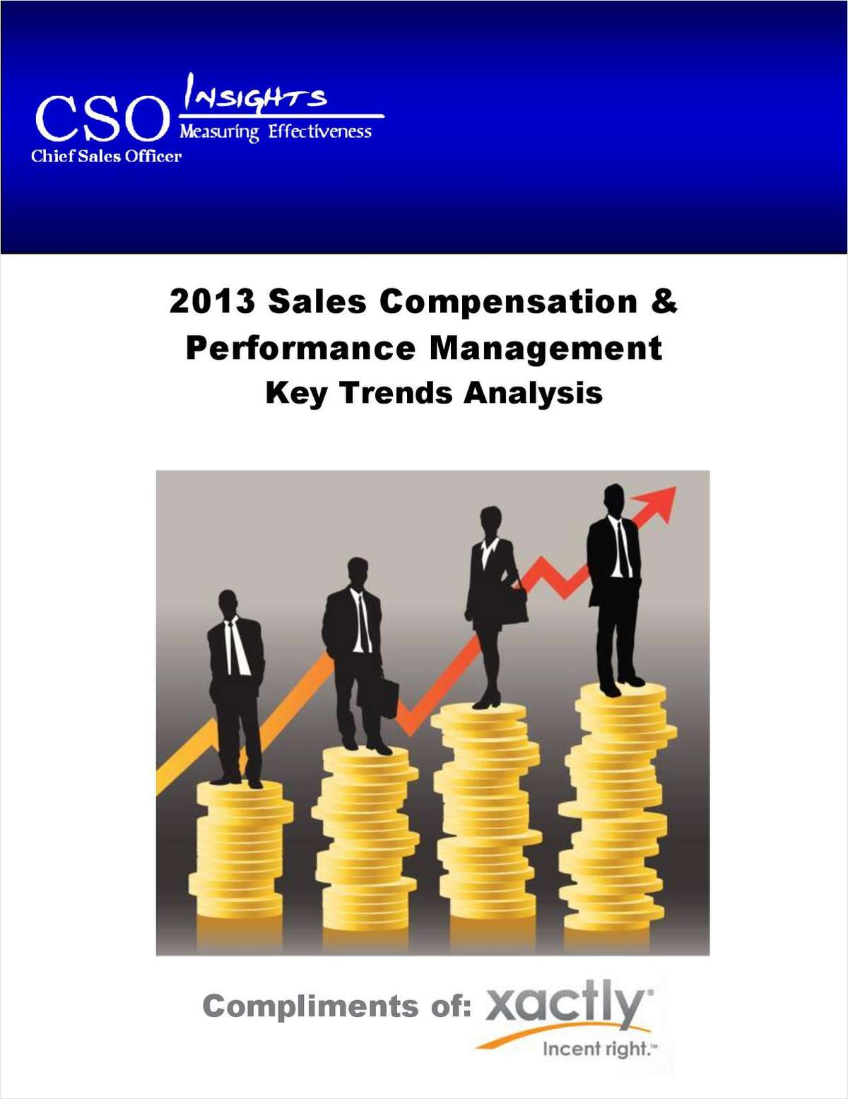 2013 Sales Compensation & Performance Management Key Trends Analysis