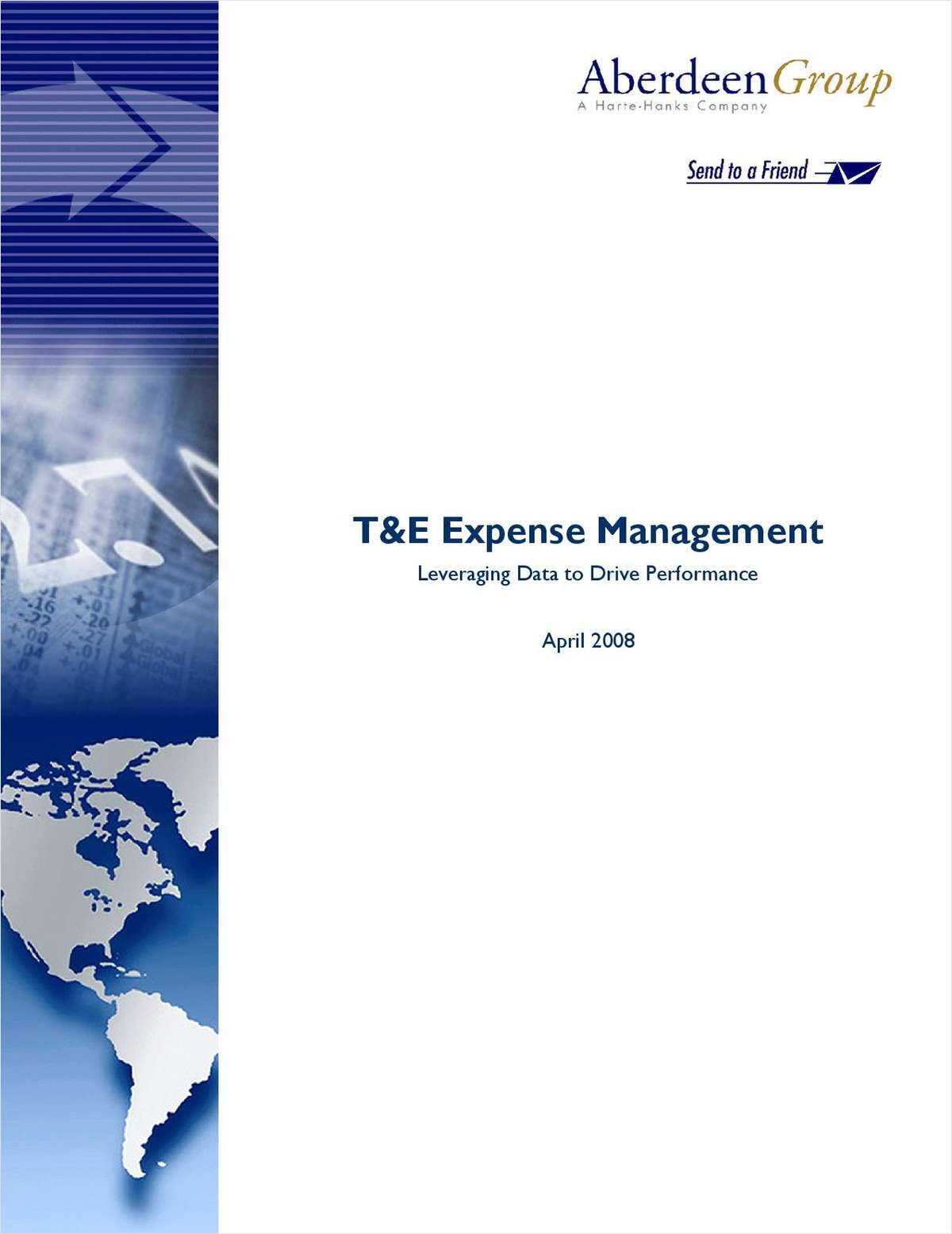 T&E Expense Management: Leveraging Data to Drive Performance
