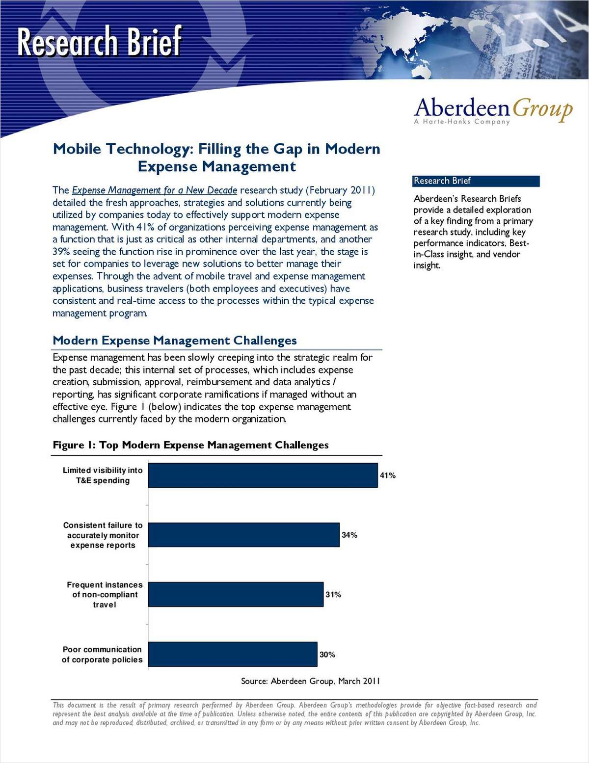 Mobile Technology: Filling the Gap in Modern Expense Management