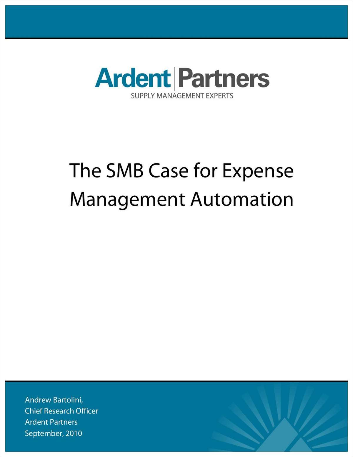 SMB Case for Expense Management Automation