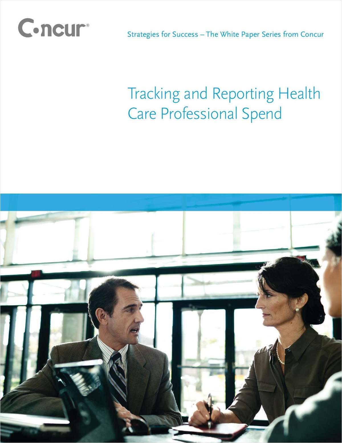 Tracking and Reporting Health Care Professional Spend