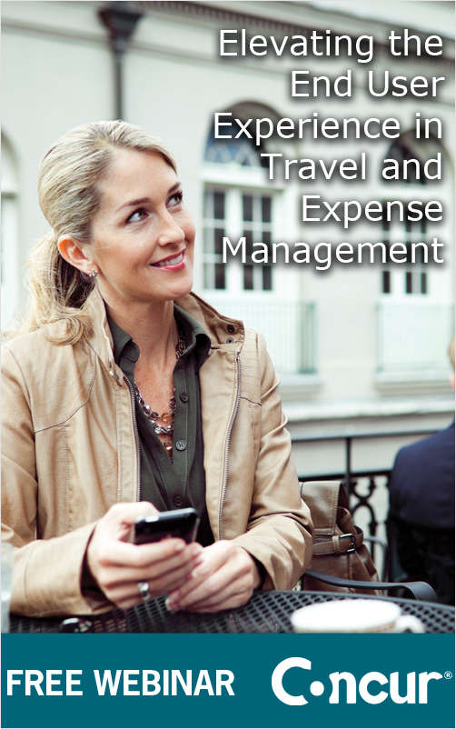 Elevating the End User Experience in Travel and Expense Management