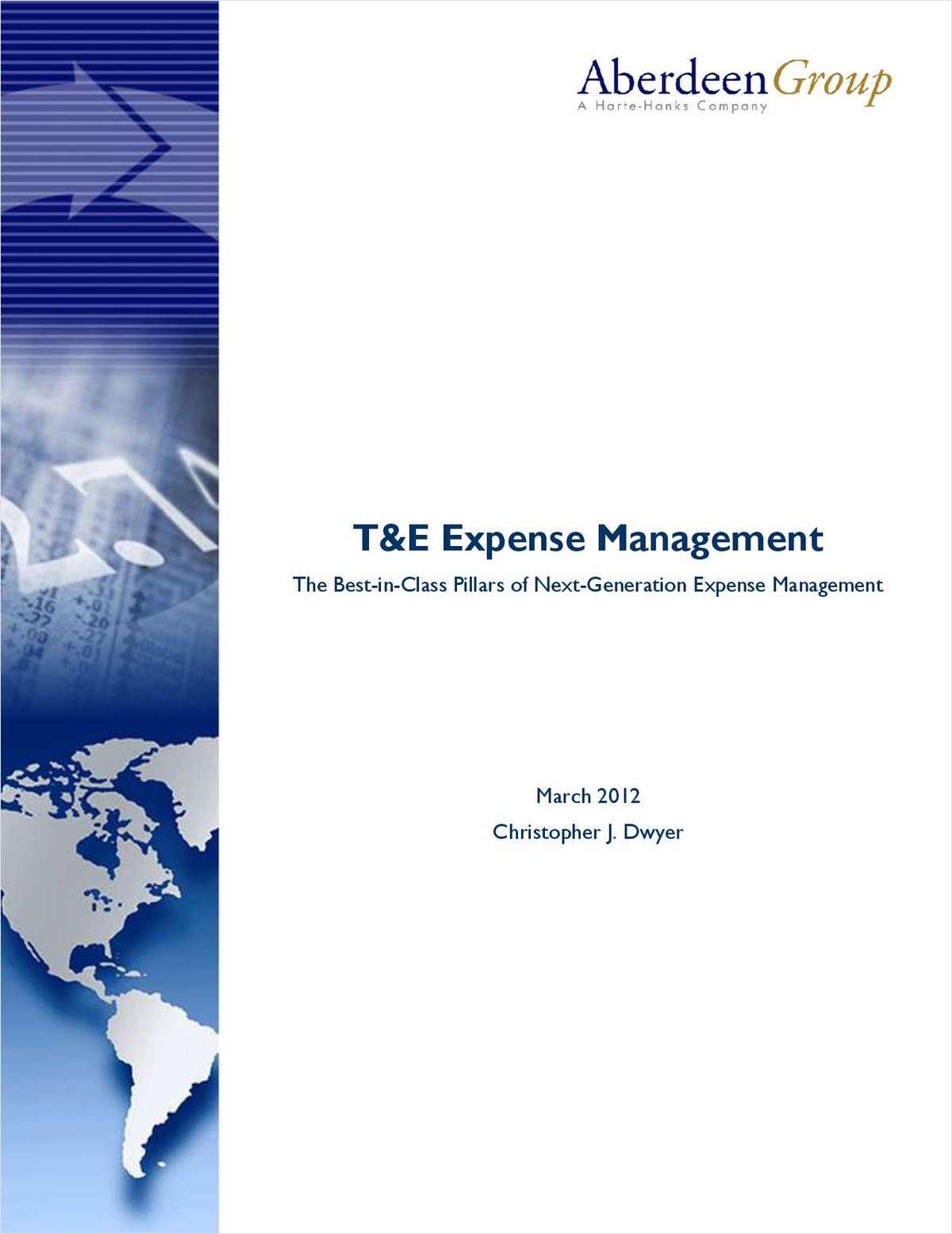 T&E Expense Management