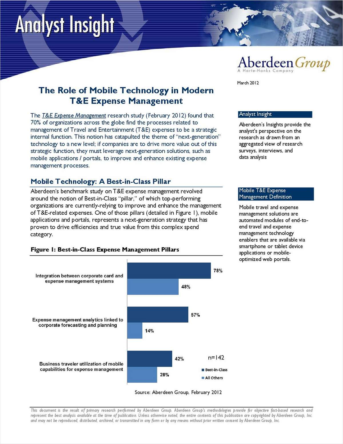 The Role of Mobile Technology in Modern T&E Expense Management