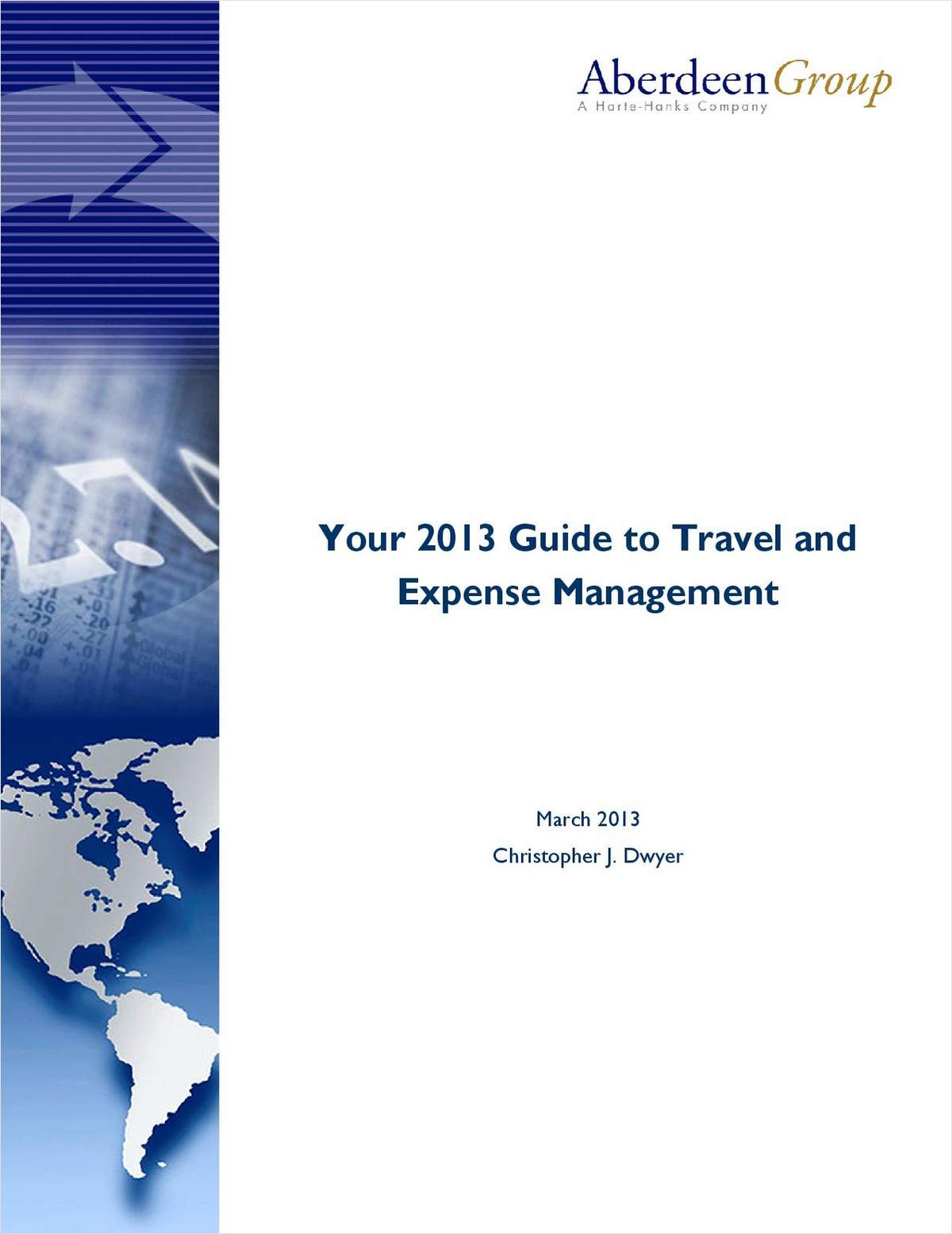 Your 2013 Guide to Travel and Expense Management