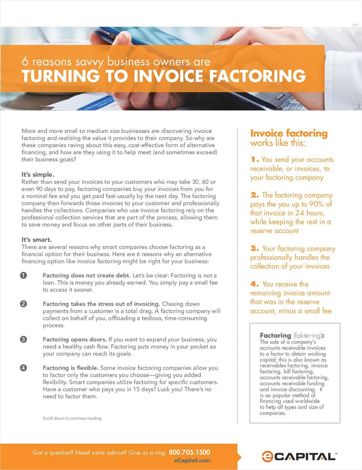 6 Reasons Savvy Small Business Owners are Turning to Invoice Factoring
