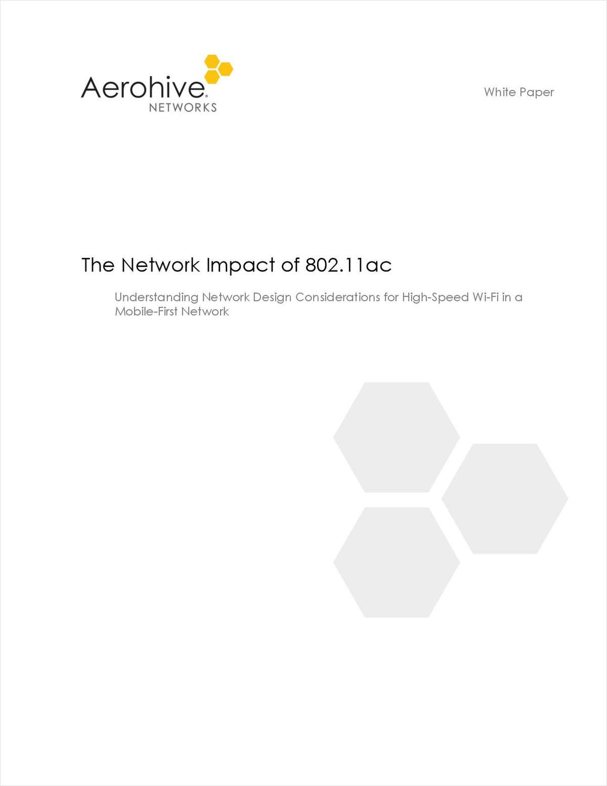 The Network Impact of 802.11ac