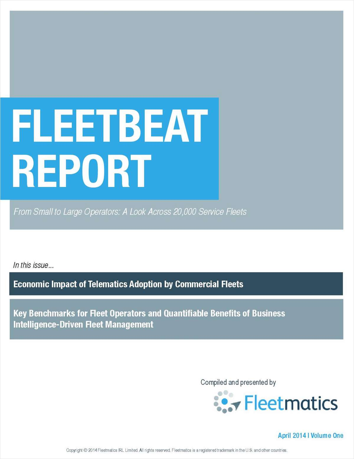 Key Benchmarks for Fleet Operators and Quantifiable Benefits of Business Intelligence-Driven Fleet Management Compiled