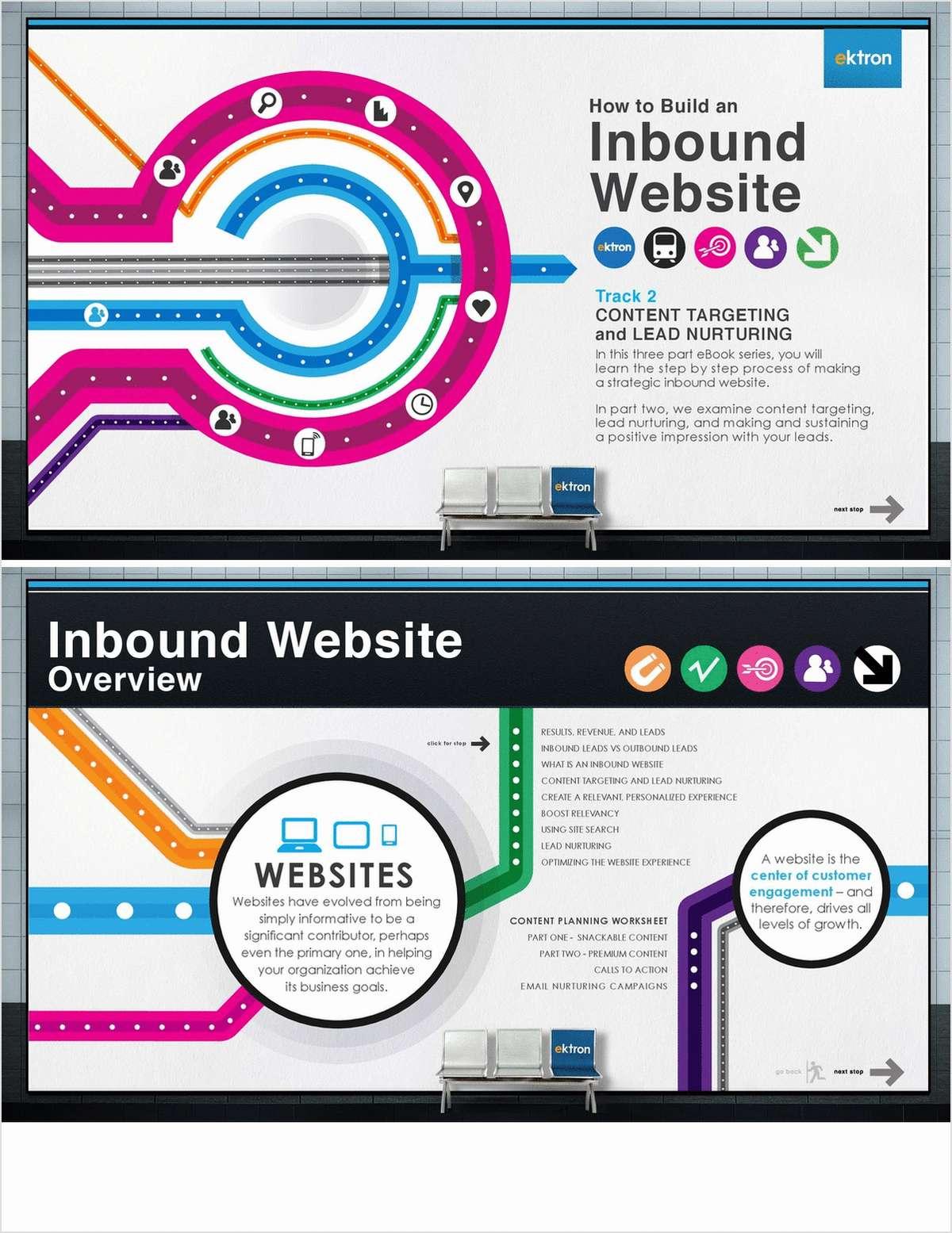 Building an Inbound Website: Content Targeting & Lead Nurturing