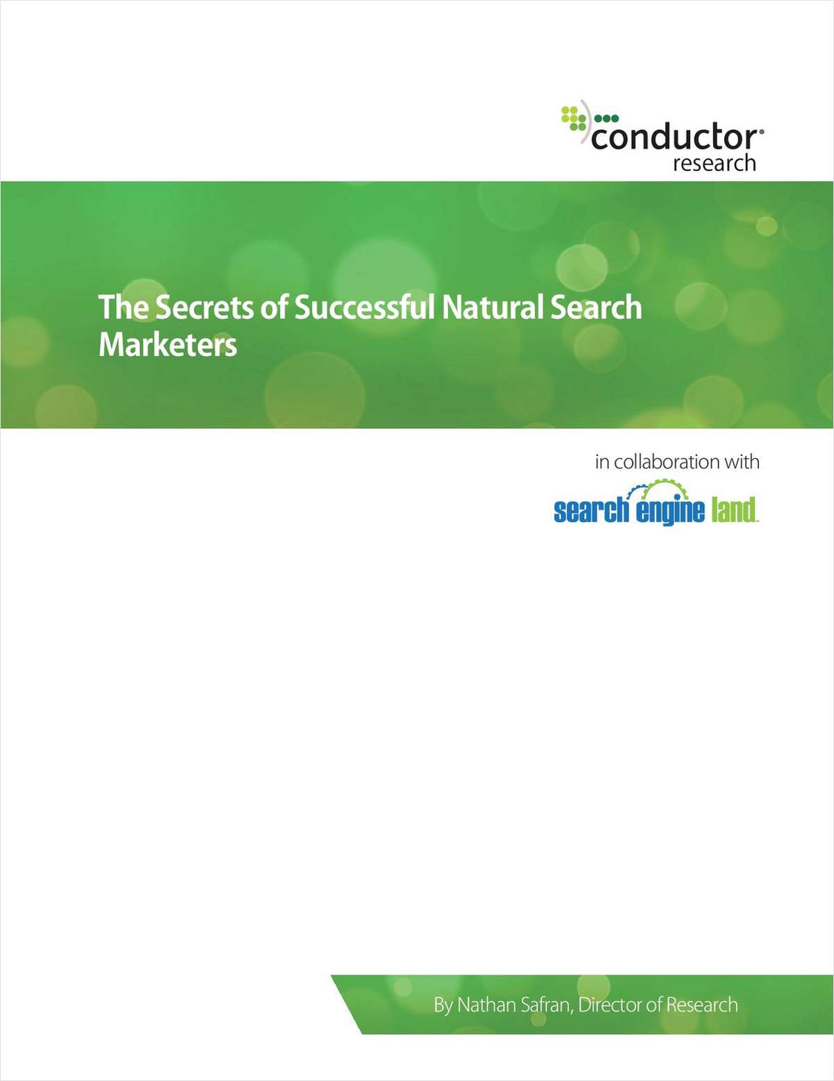 The Secrets of Successful Natural Search Marketers