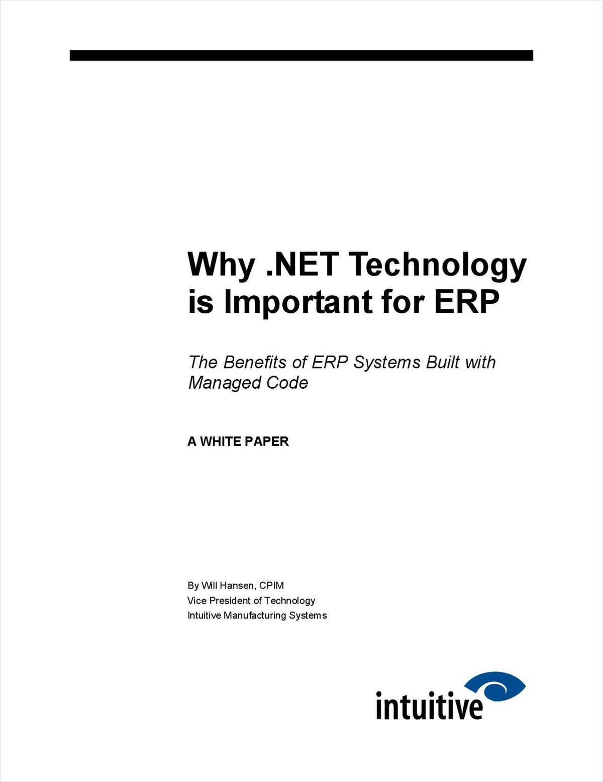 Why .NET Technology is important for ERP