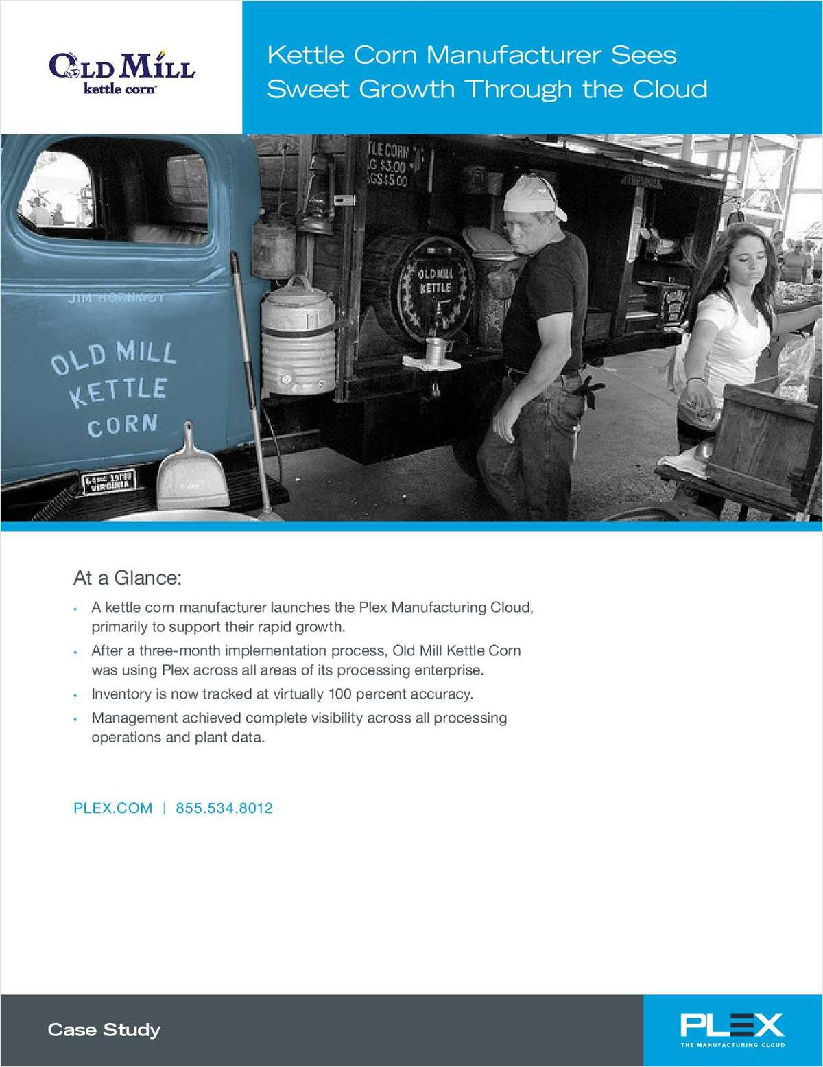 Kettle Corn Manufacturer's Sweet Growth Through the Cloud