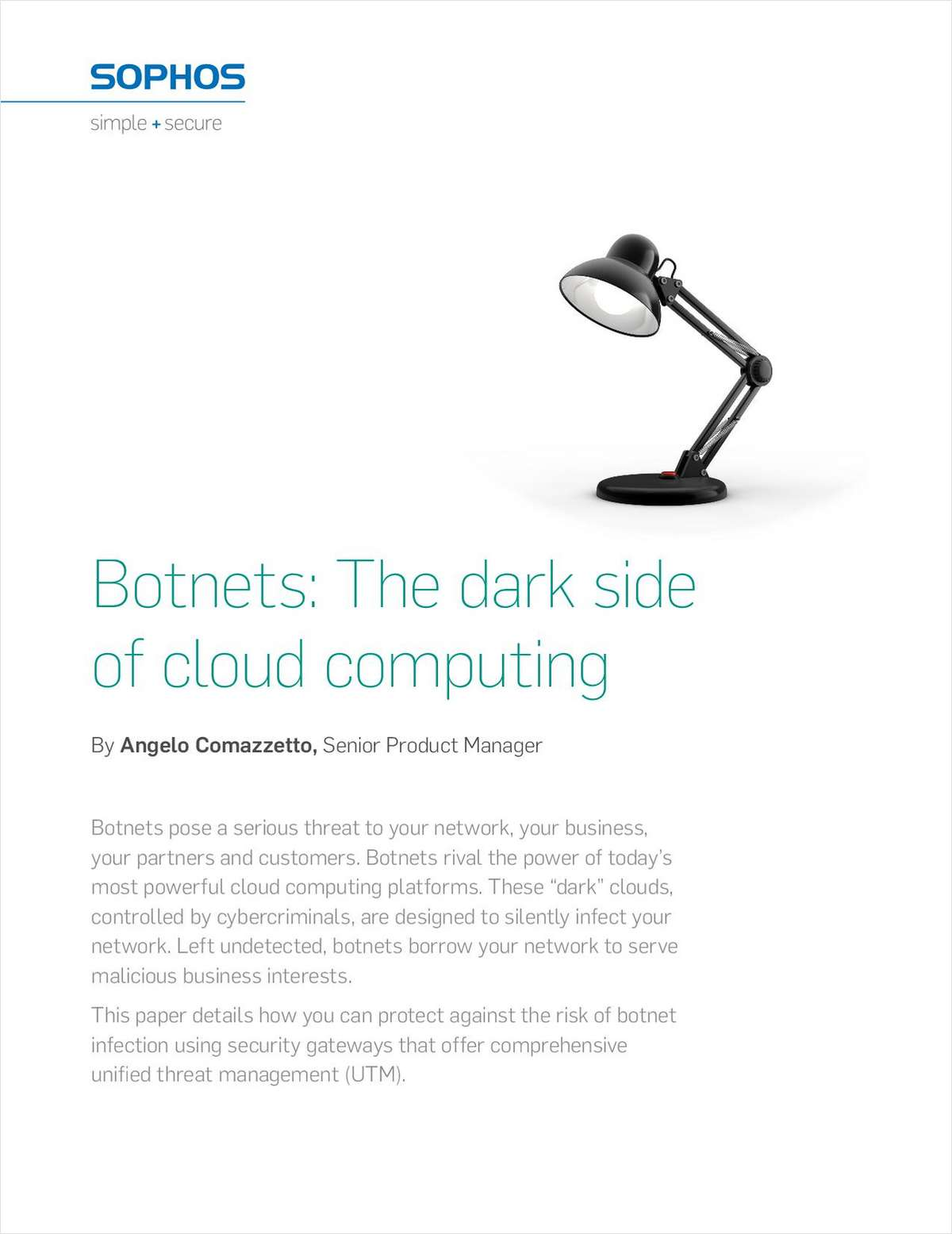 Botnets: The Dark Side of Cloud Computing