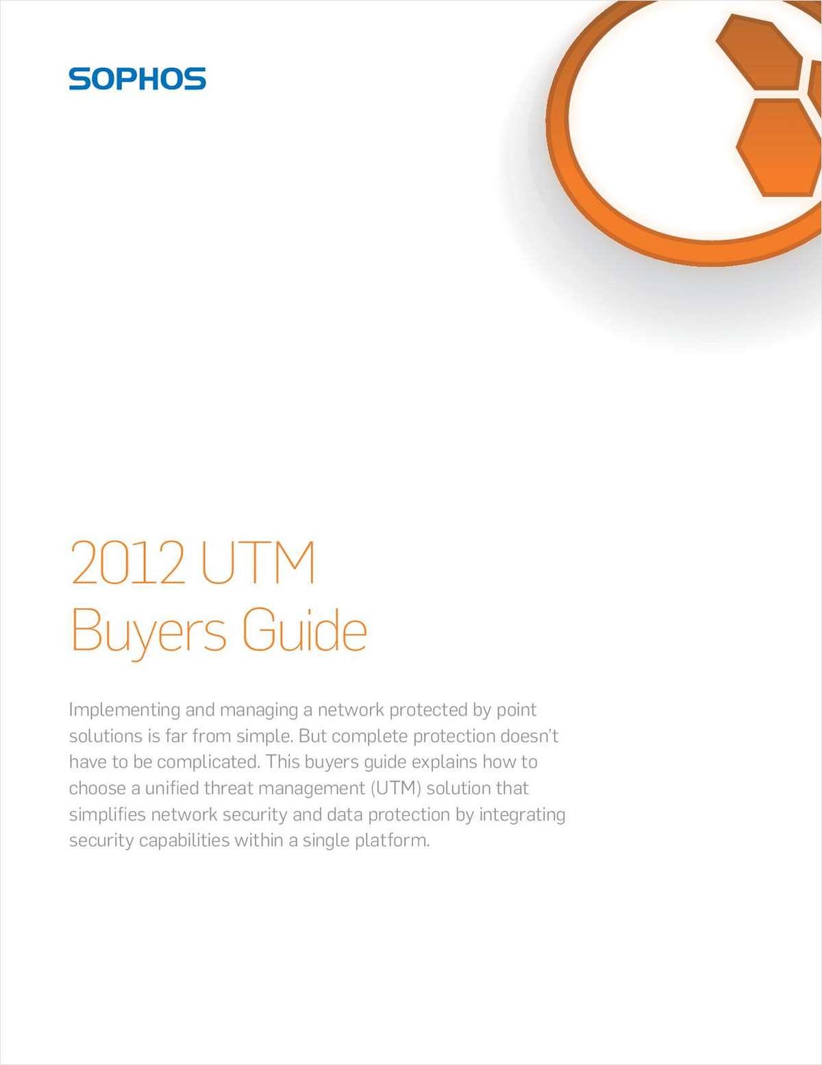 2012 UTM Buyers Guide