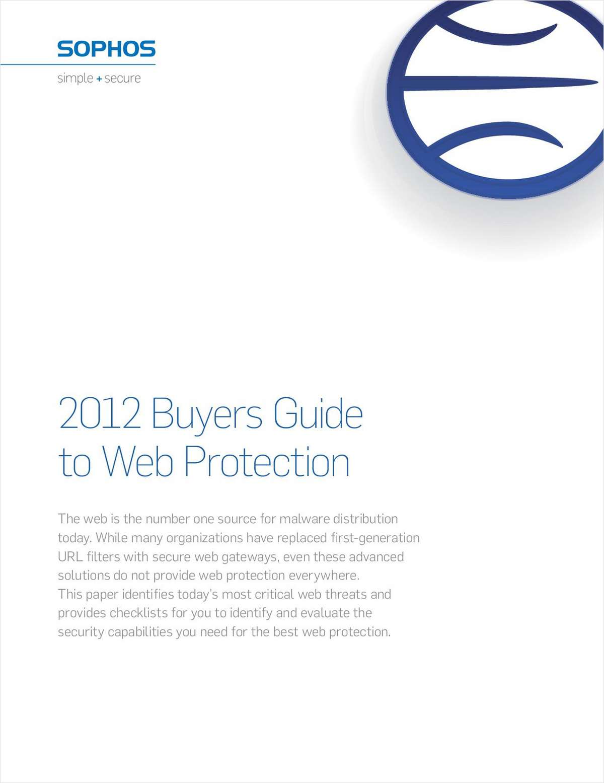 2012 Buyers Guide to Web Protection
